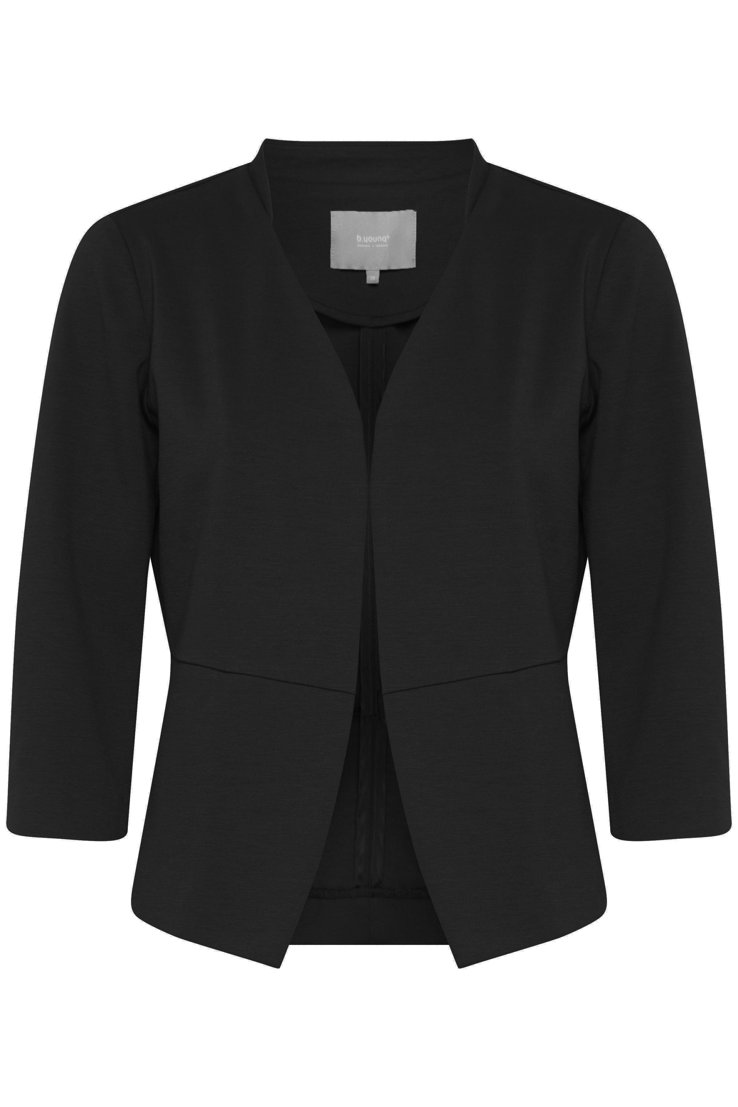 Black Blazer fra b.young - Kjøp Black Blazer fra størrelse 34-44 her
