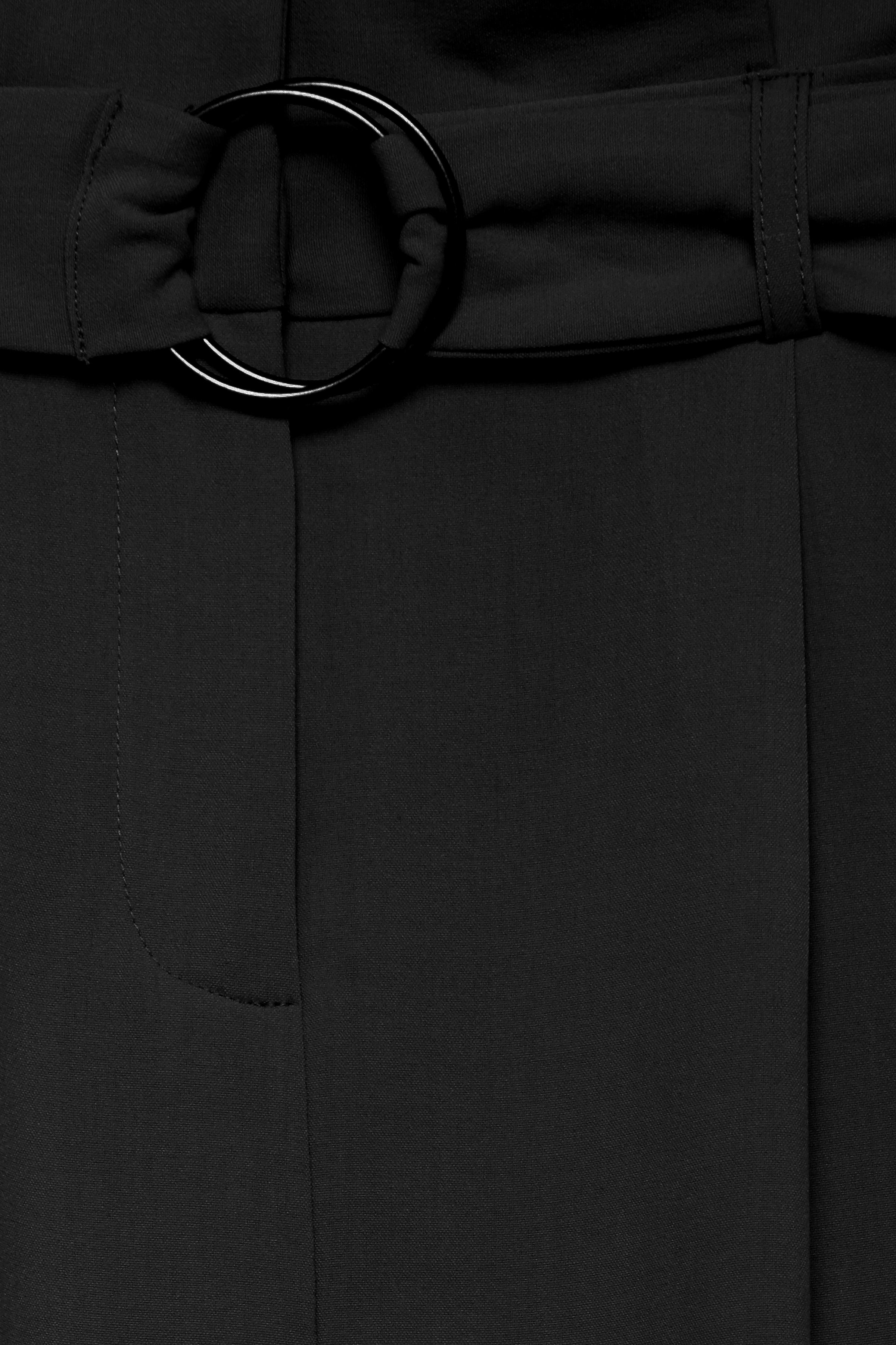 Black Buks med paperbag talje fra b.young – Køb Black Buks med paperbag talje fra str. 34-46 her