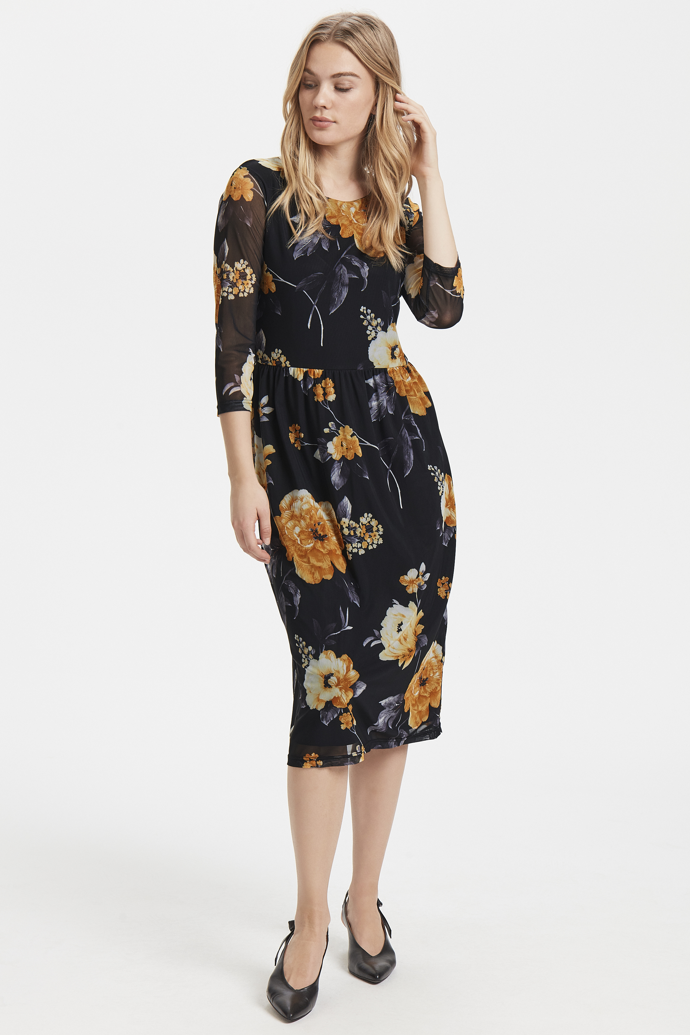 Black combi 1 Jersey dress from b.young – Buy Black combi 1 Jersey dress from size S-XXL here