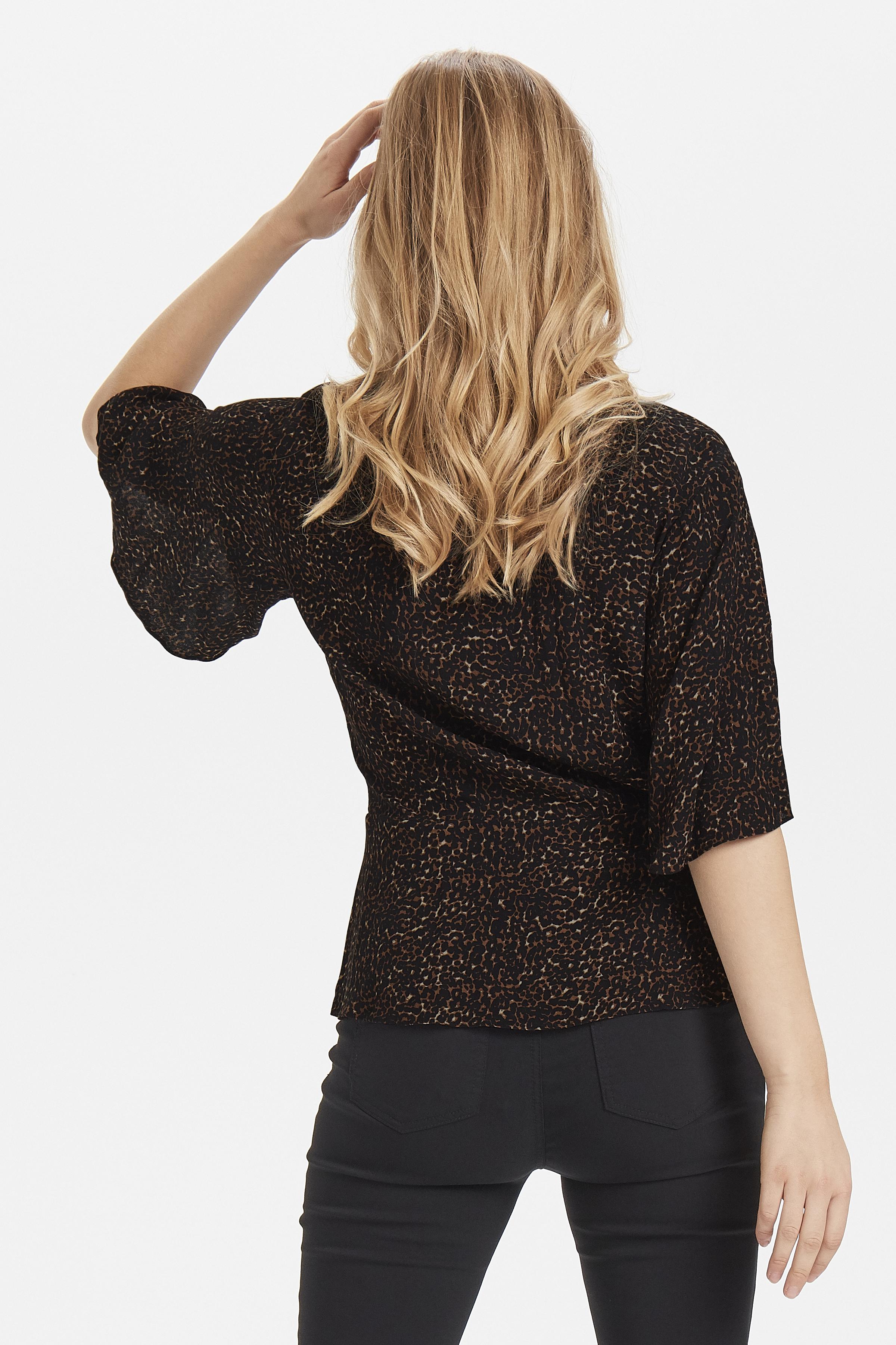 Black combi 1 Kurzarm-Bluse von b.young – Kaufen Sie Black combi 1 Kurzarm-Bluse aus Größe 34-42 hier