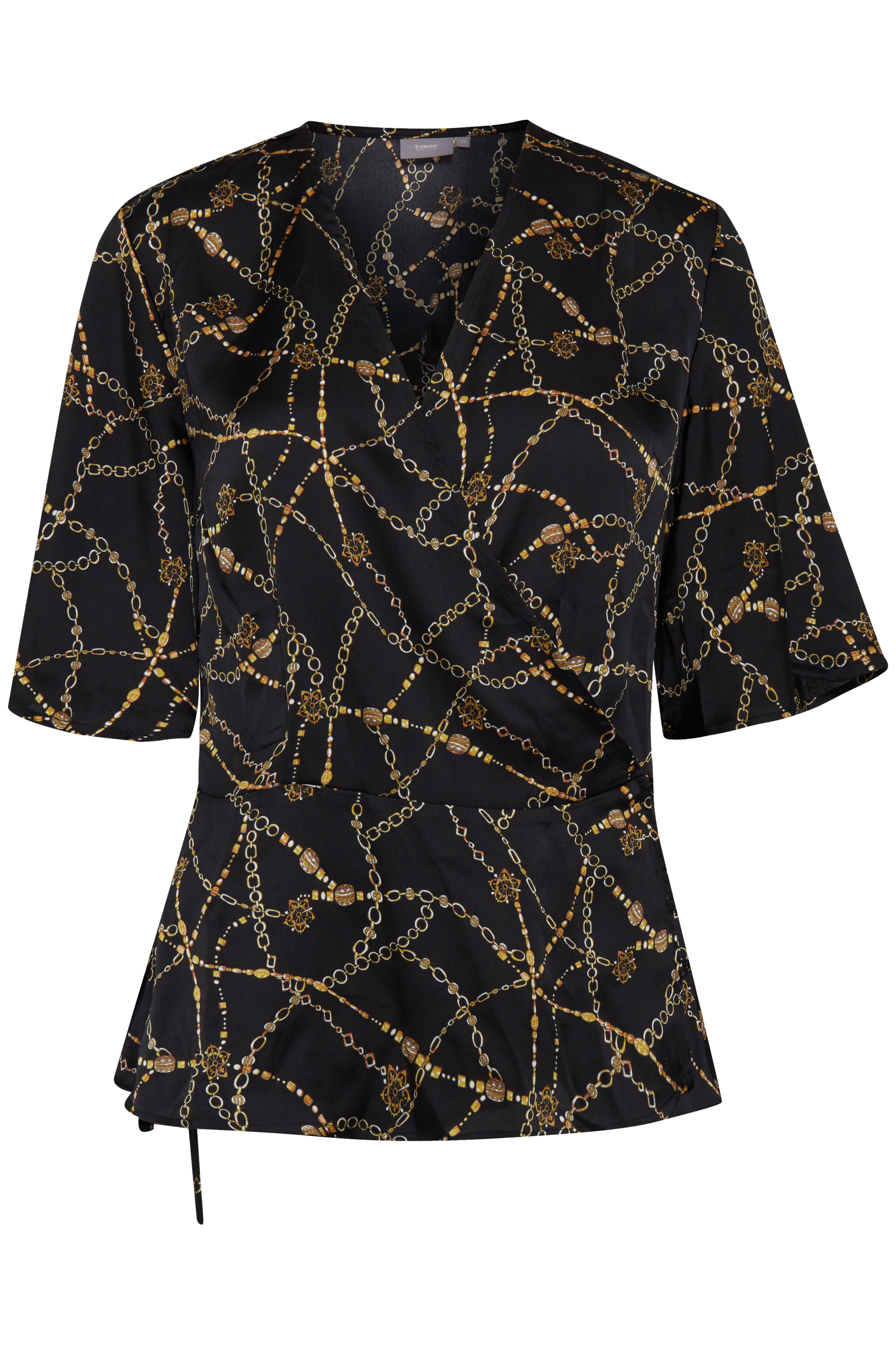 Black combi 1 Kurzarm-Bluse von b.young – Kaufen Sie Black combi 1 Kurzarm-Bluse aus Größe 34-44 hier