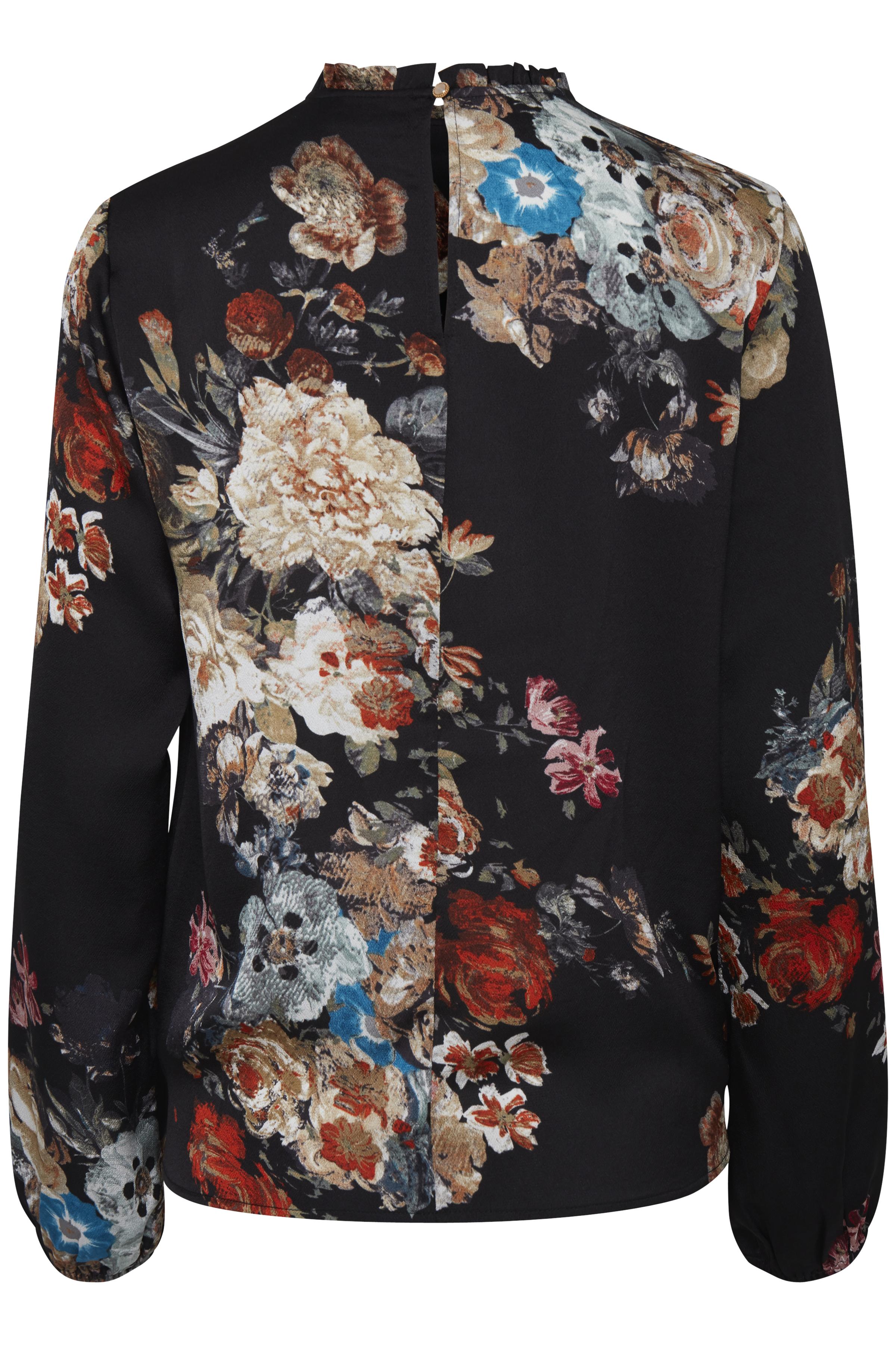 Black combi 1 Langærmet bluse fra b.young – Køb Black combi 1 Langærmet bluse fra str. 34-46 her