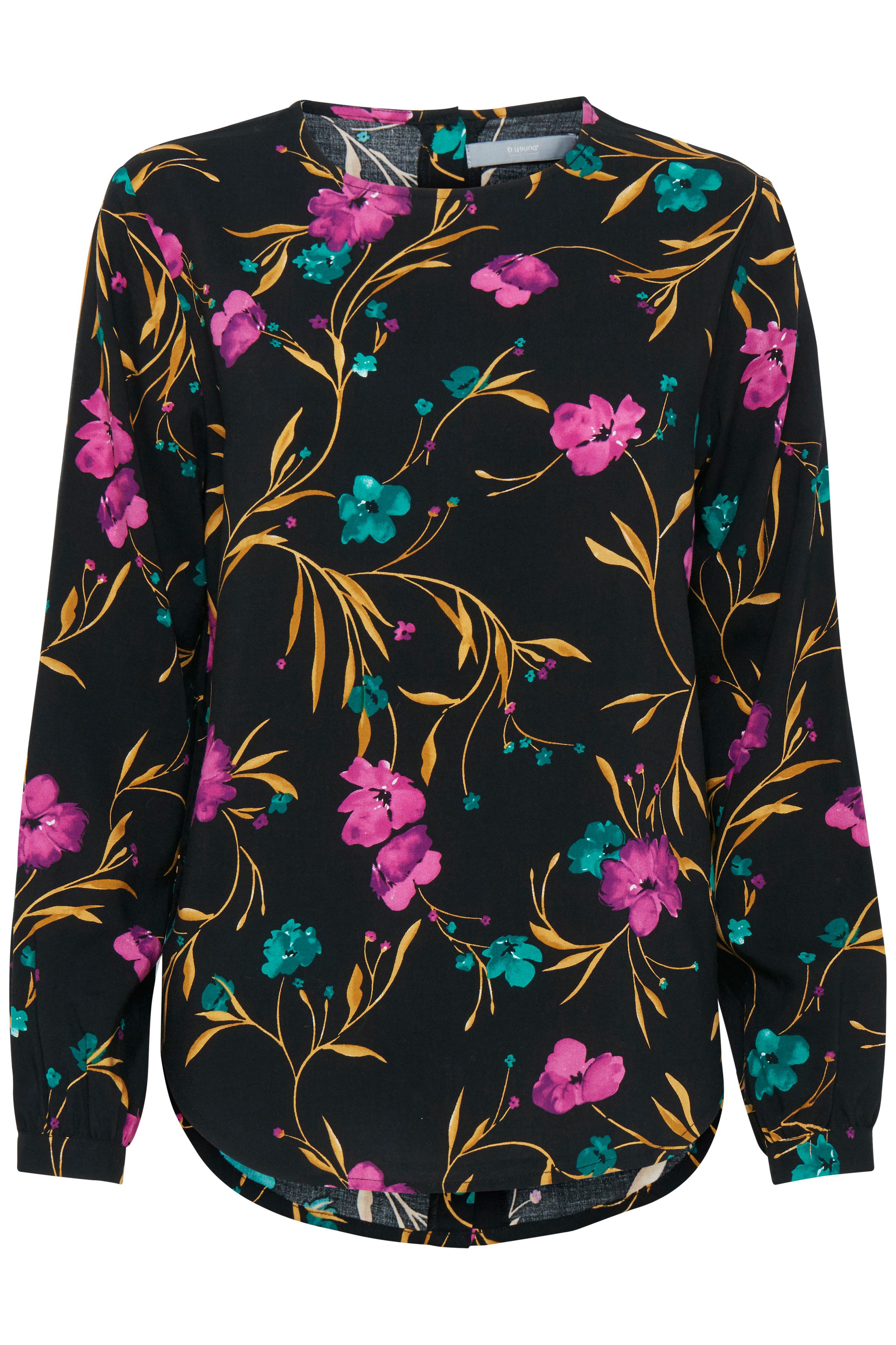 Black combi 1 Langarm-Bluse von b.young – Kaufen Sie Black combi 1 Langarm-Bluse aus Größe 34-44 hier