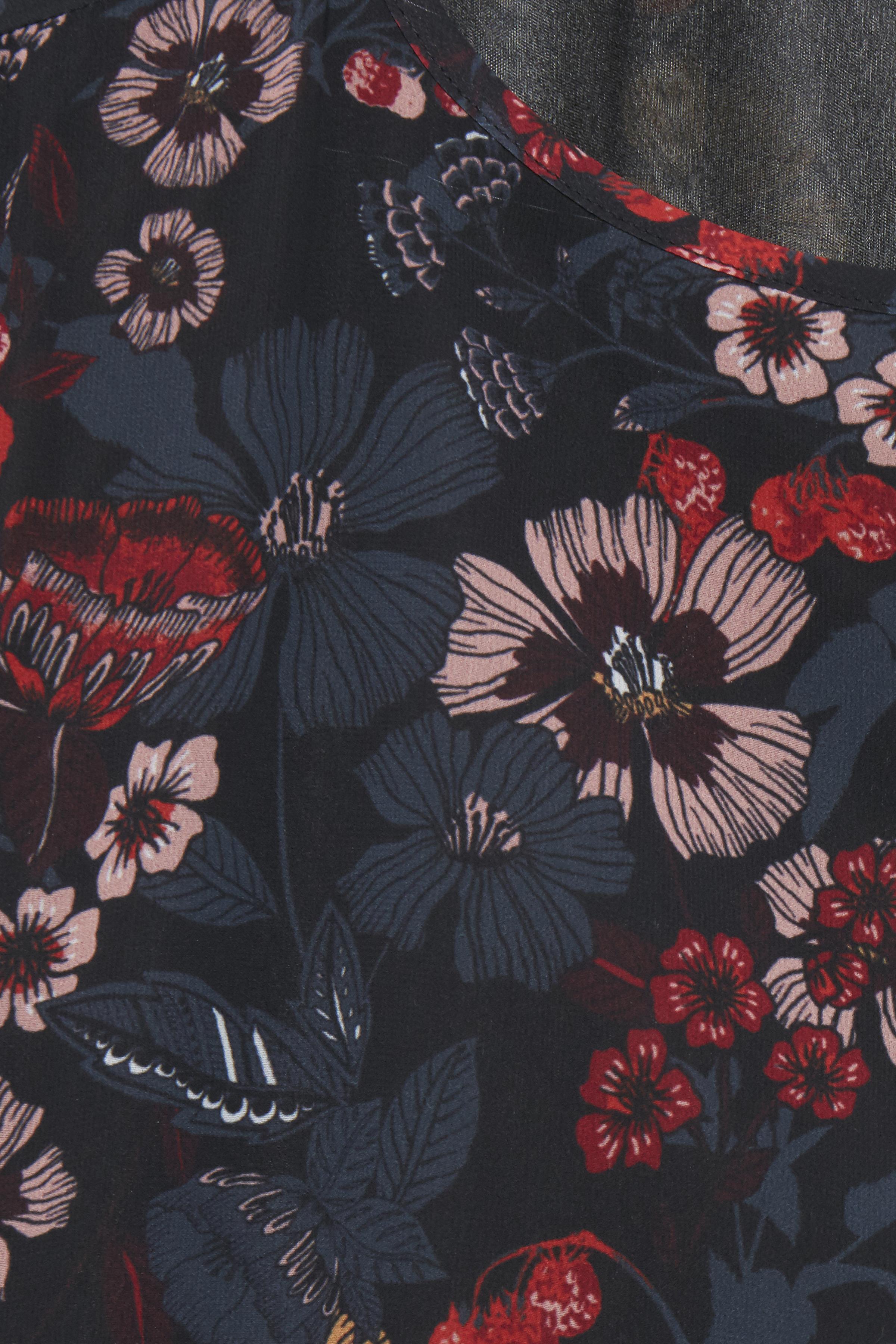 Black COMBI 1 print Långärmad blus från b.young – Köp Black COMBI 1 print Långärmad blus från storlek 36-46 här