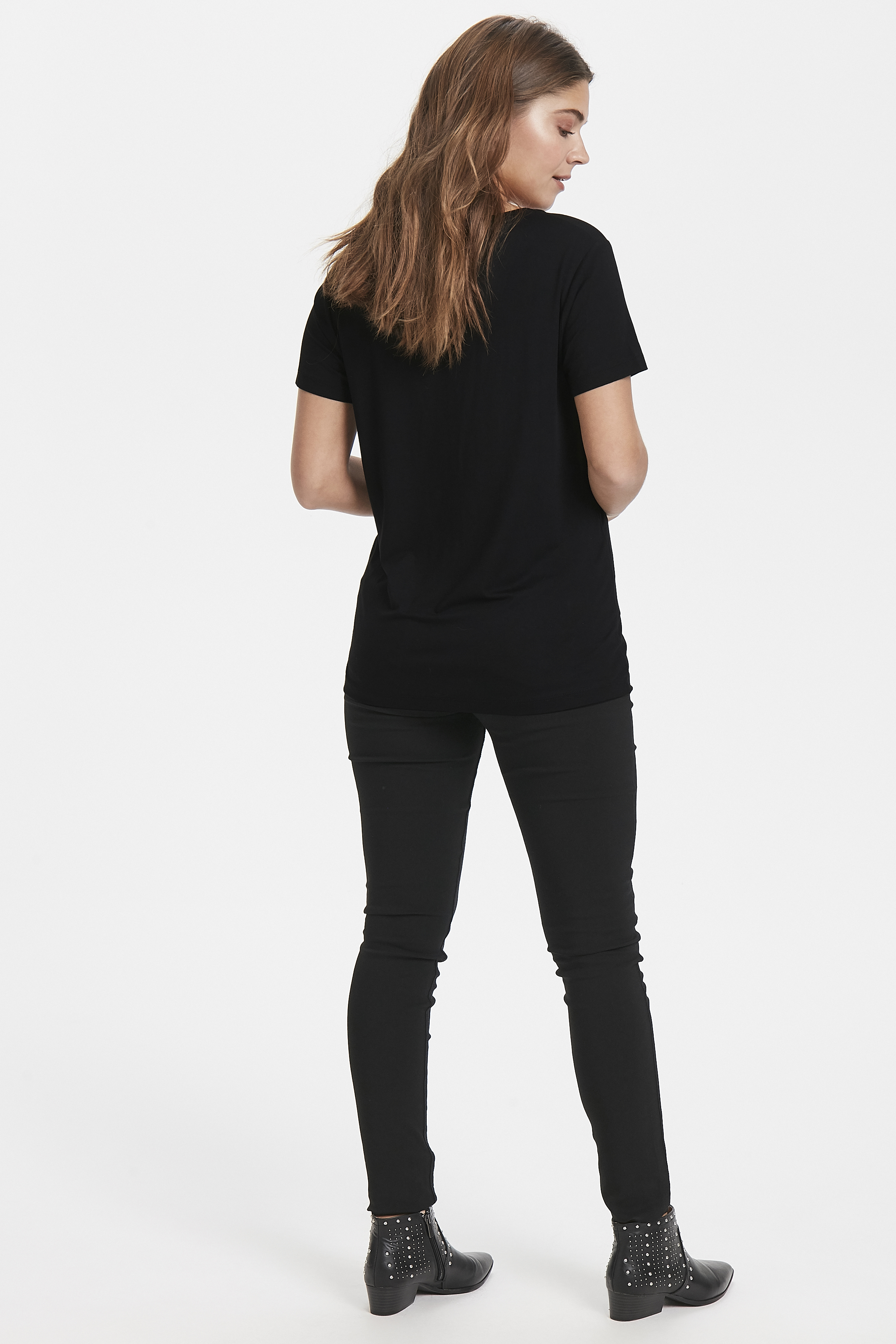 Black combi 1 T-shirt from b.young – Buy Black combi 1 T-shirt from size XS-XL here