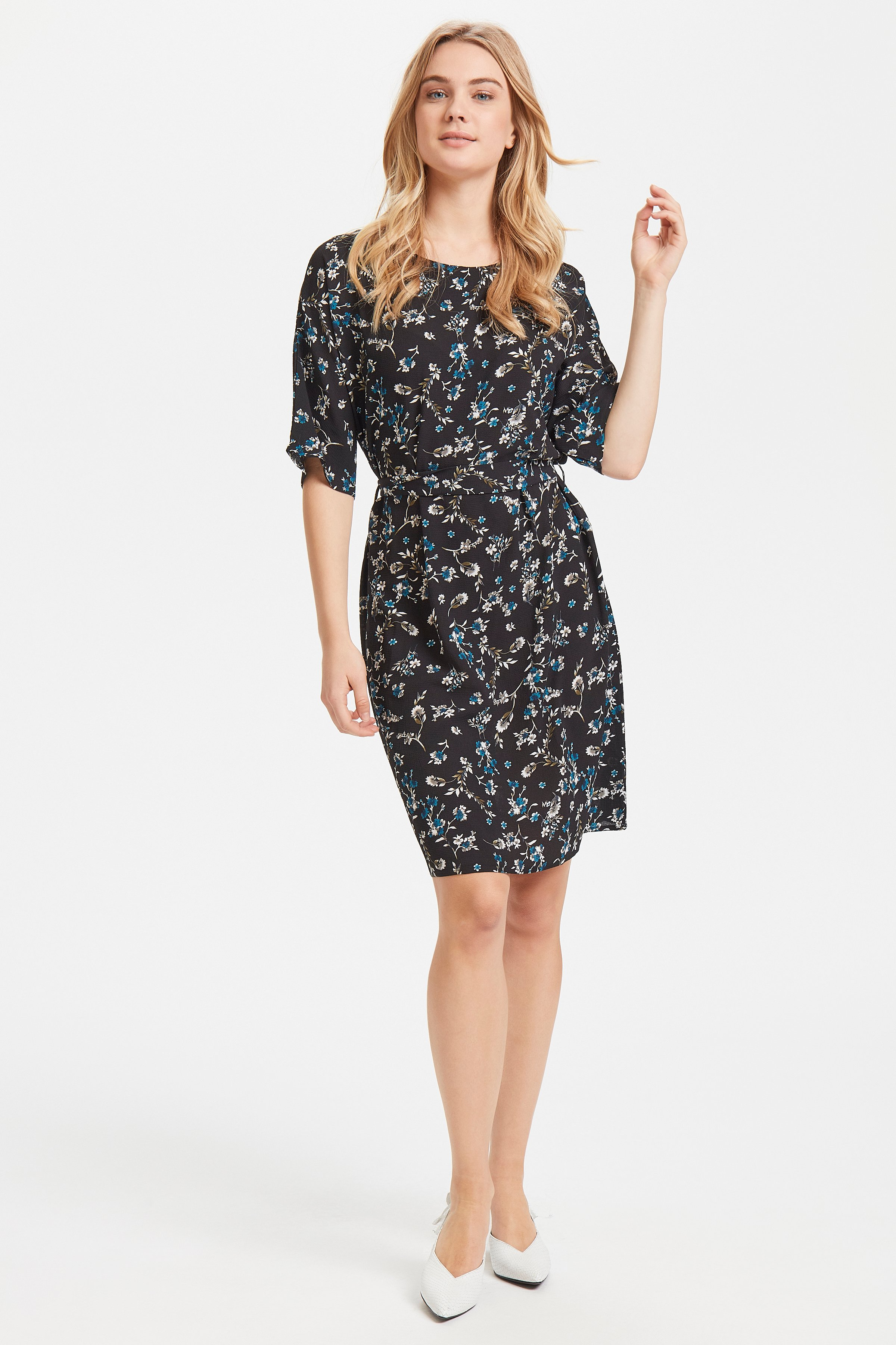 Black combi 2 Dress from b.young – Buy Black combi 2 Dress from size 34-42 here