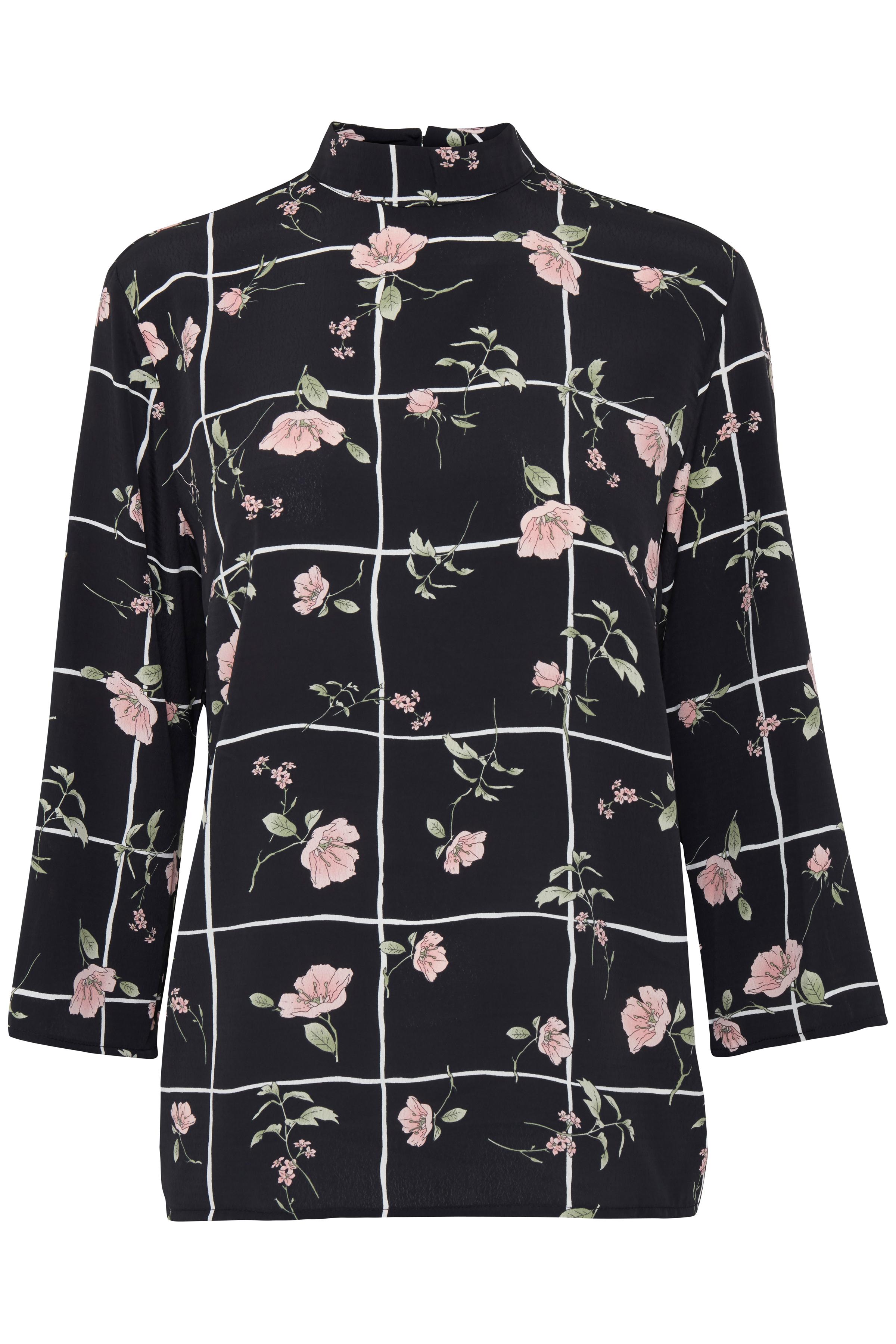 Black combi 2 Langærmet bluse fra b.young – Køb Black combi 2 Langærmet bluse fra str. 34-42 her
