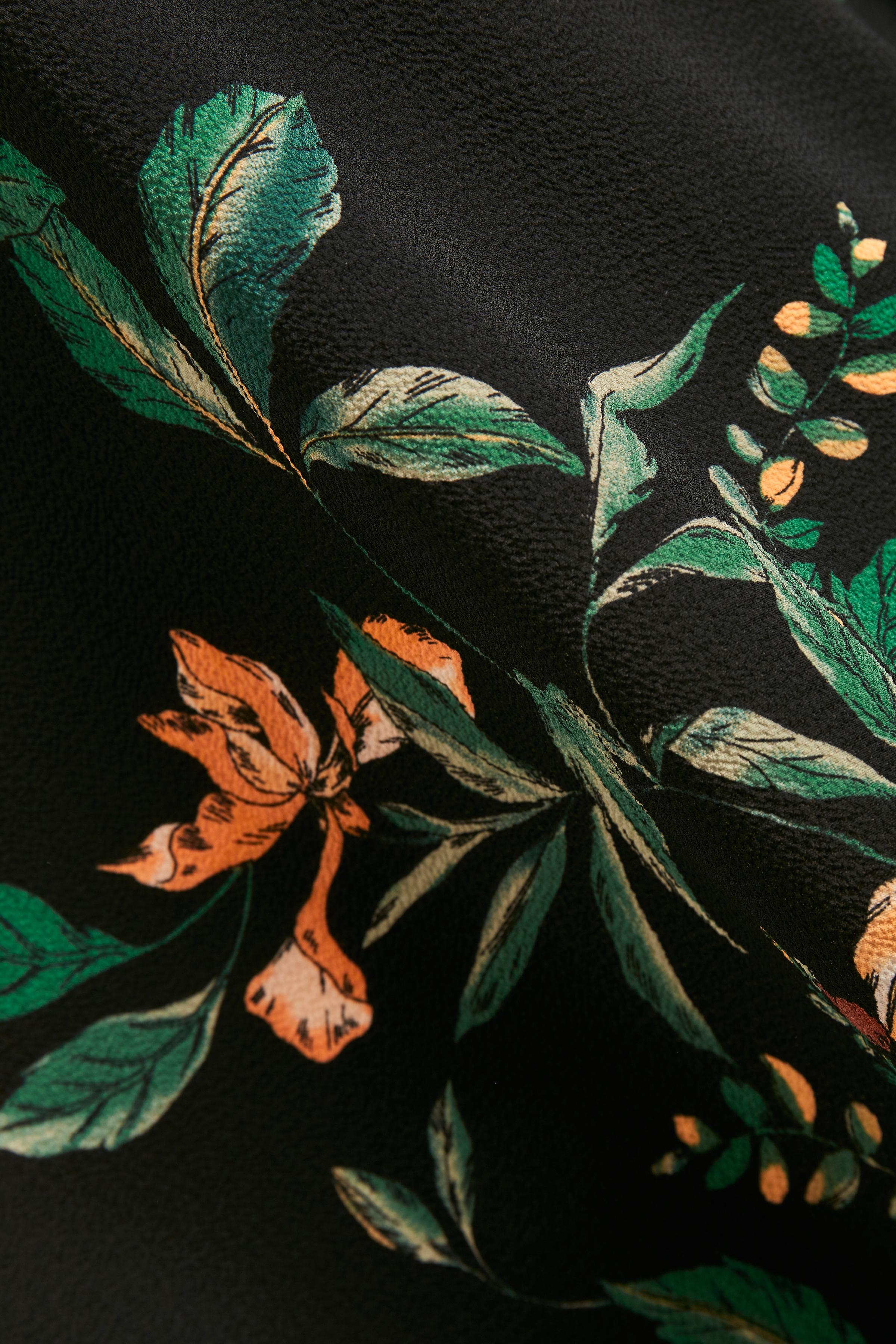 Black combi Blouse met korte mouwen van b.young – Koop Black combi Blouse met korte mouwen hier van size 34-44