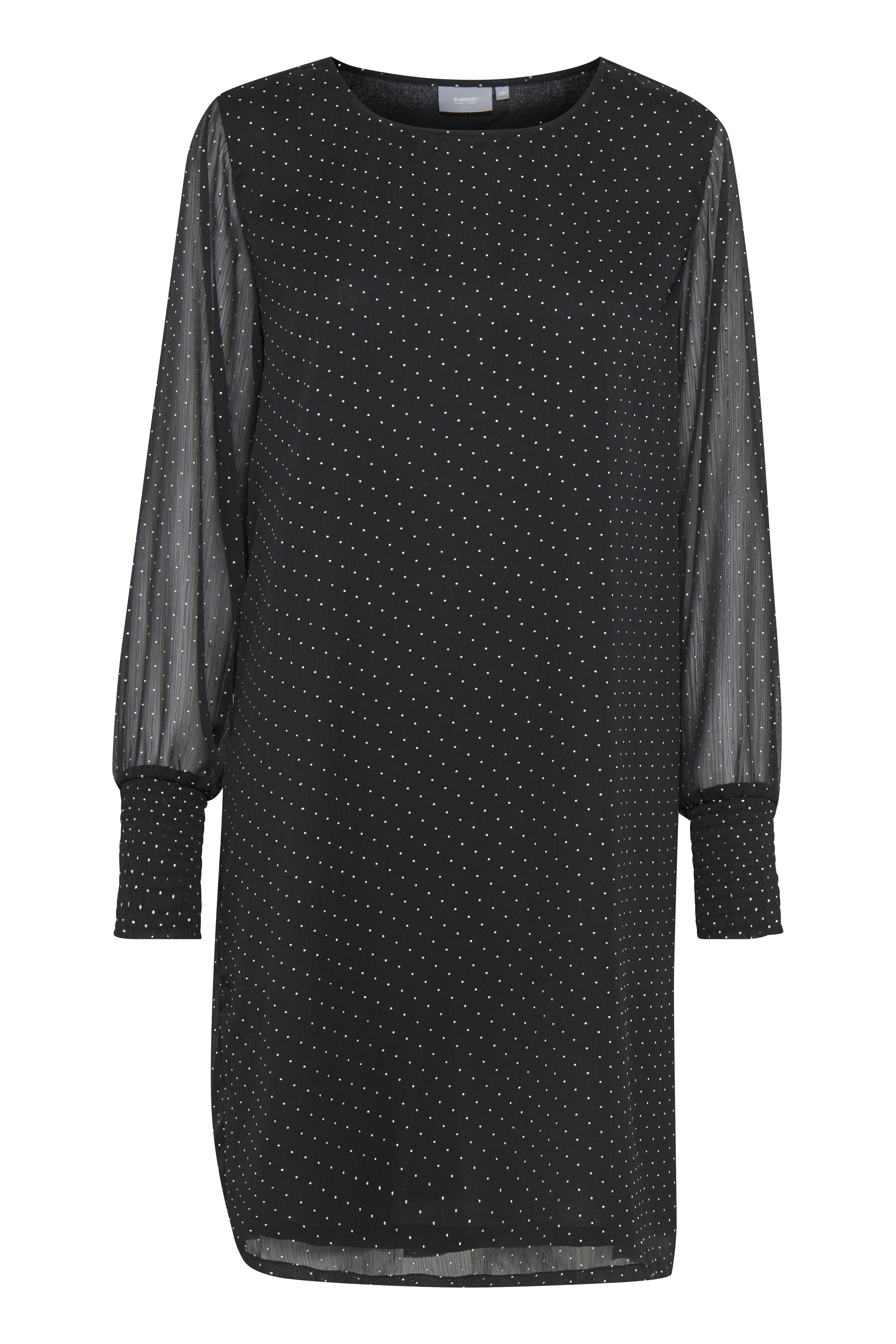Black combi Kjole fra b.young - Kjøp Black combi Kjole fra størrelse 36-46 her