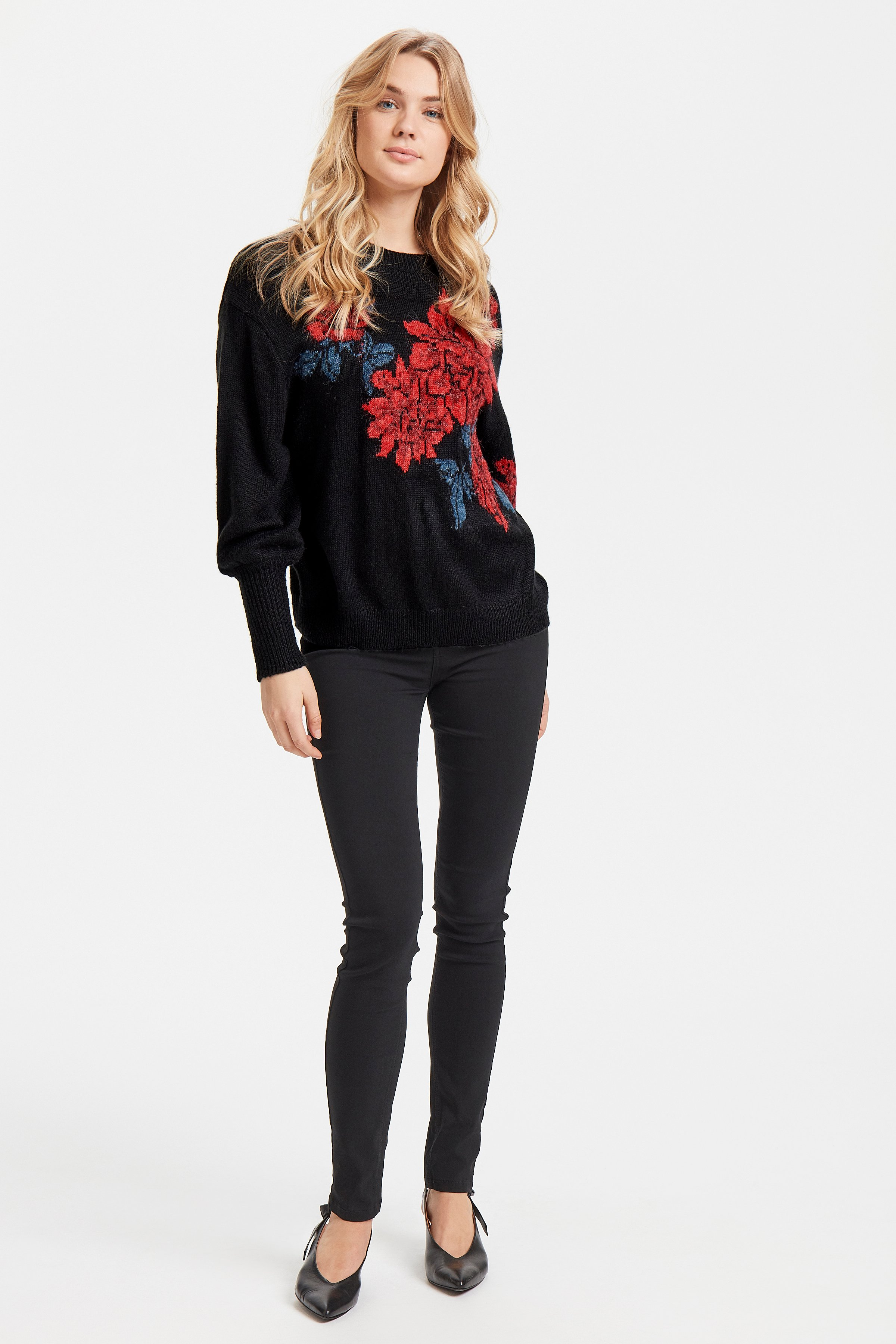 Black combi Knitted pullover from b.young – Buy Black combi Knitted pullover from size XS-XXL here