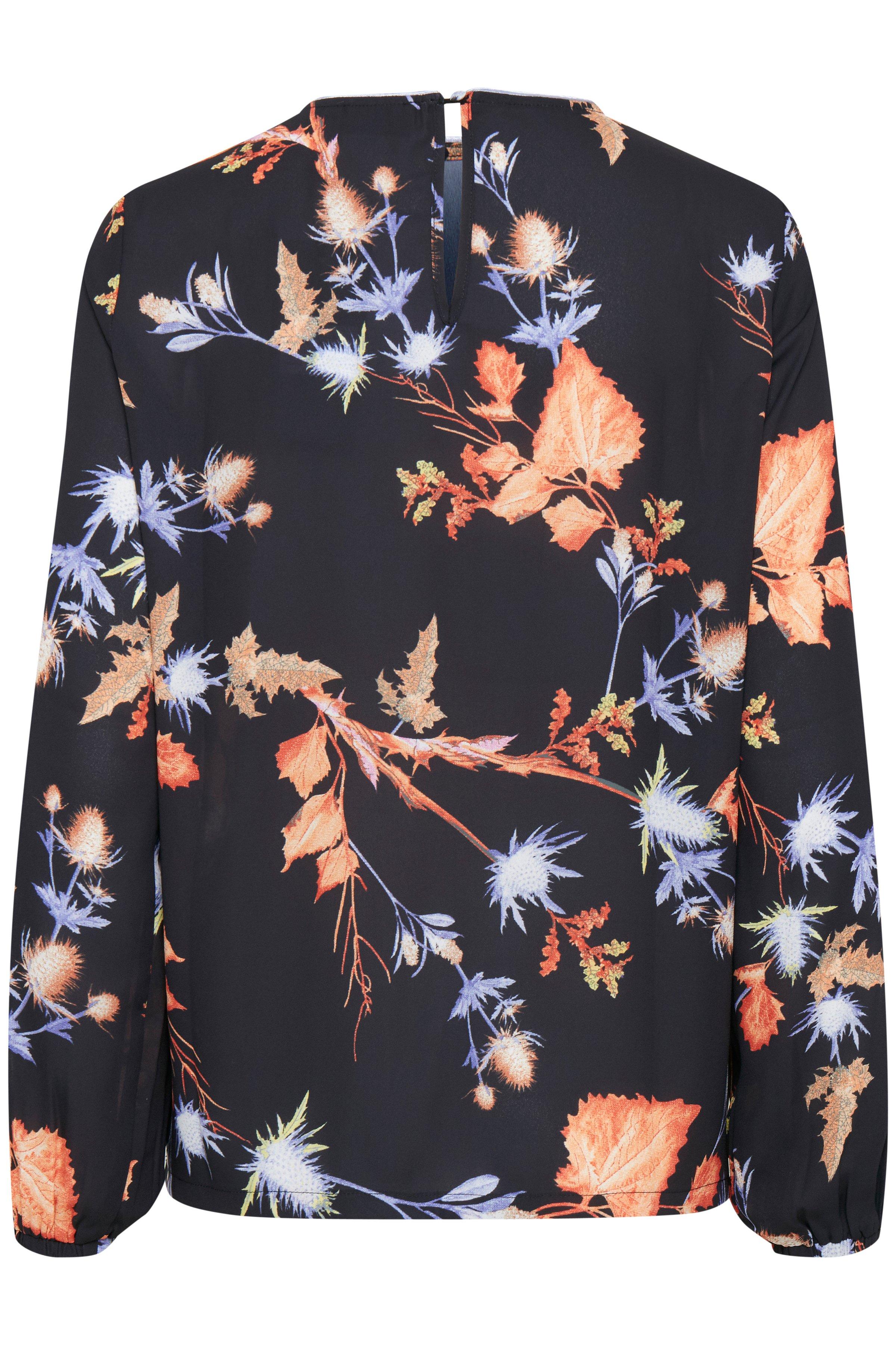 Black combi Langærmet bluse fra b.young – Køb Black combi Langærmet bluse fra str. 34-42 her