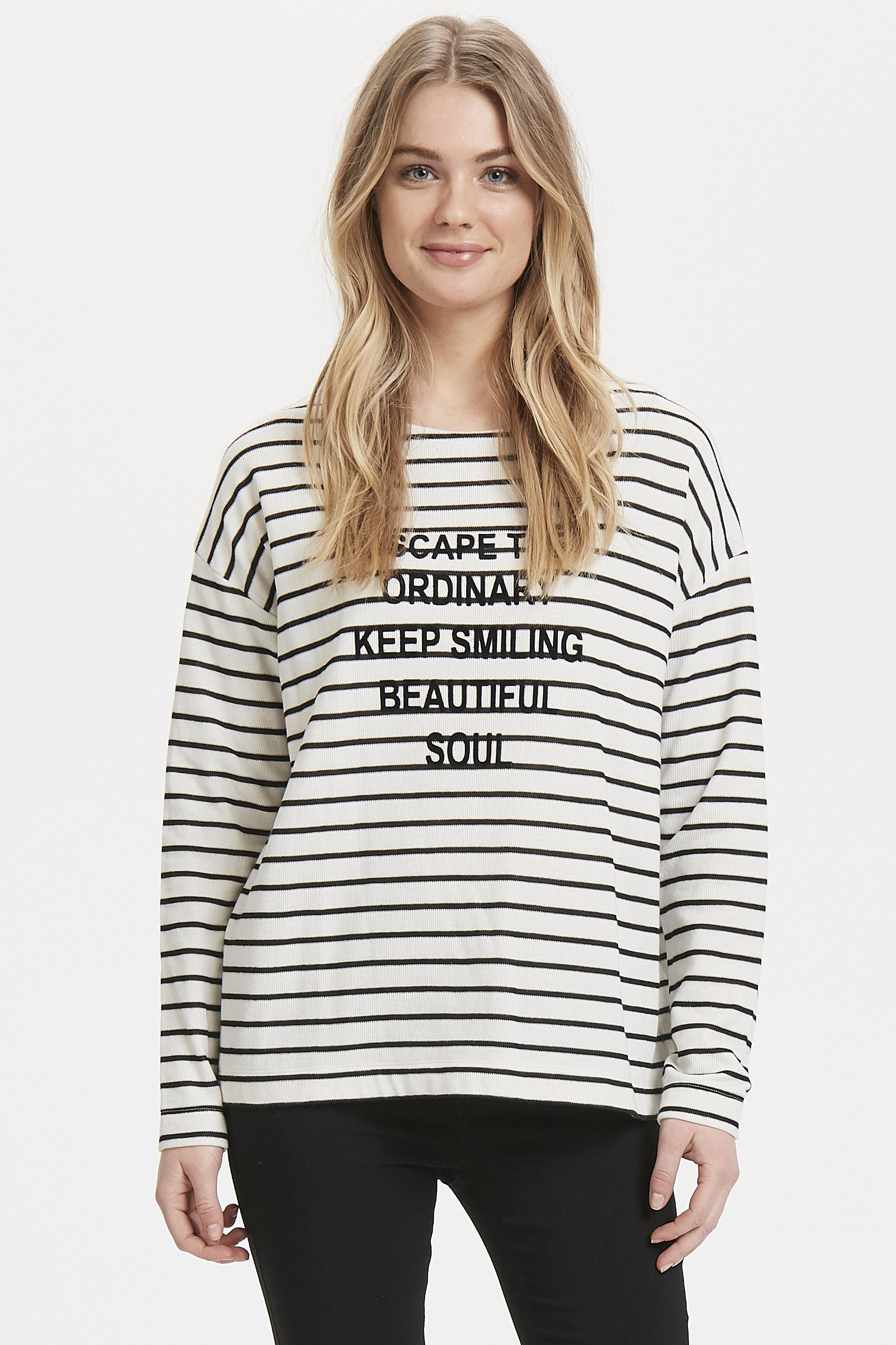 Black combi Langarm-Bluse von b.young – Kaufen Sie Black combi Langarm-Bluse aus Größe XS-XXL hier