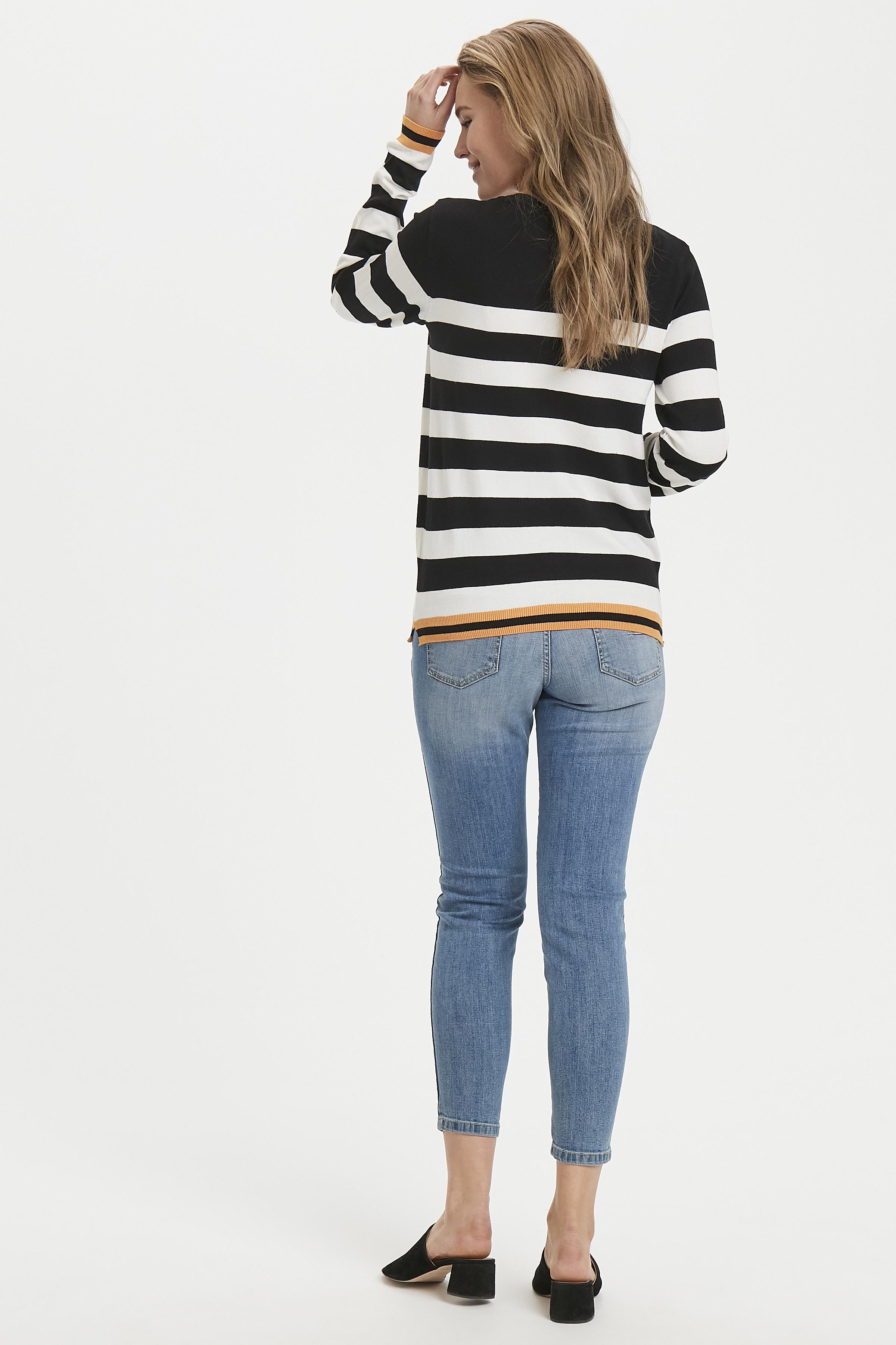 Black Combi Strickpullover von b.young – Kaufen Sie Black Combi Strickpullover aus Größe S-XXL hier