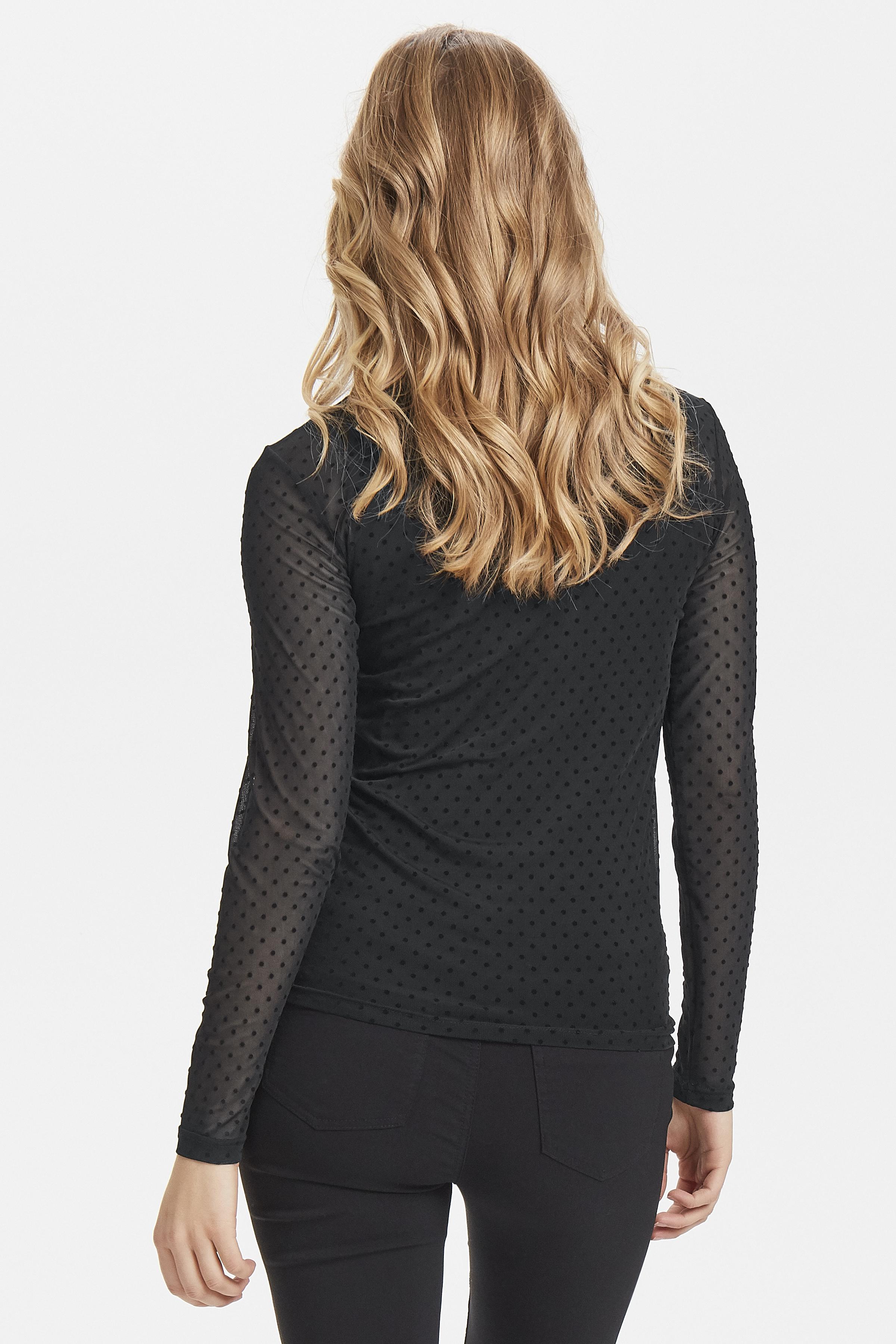 Black dot Combi 1 Langærmet bluse fra b.young – Køb Black dot Combi 1 Langærmet bluse fra str. XS-XL her