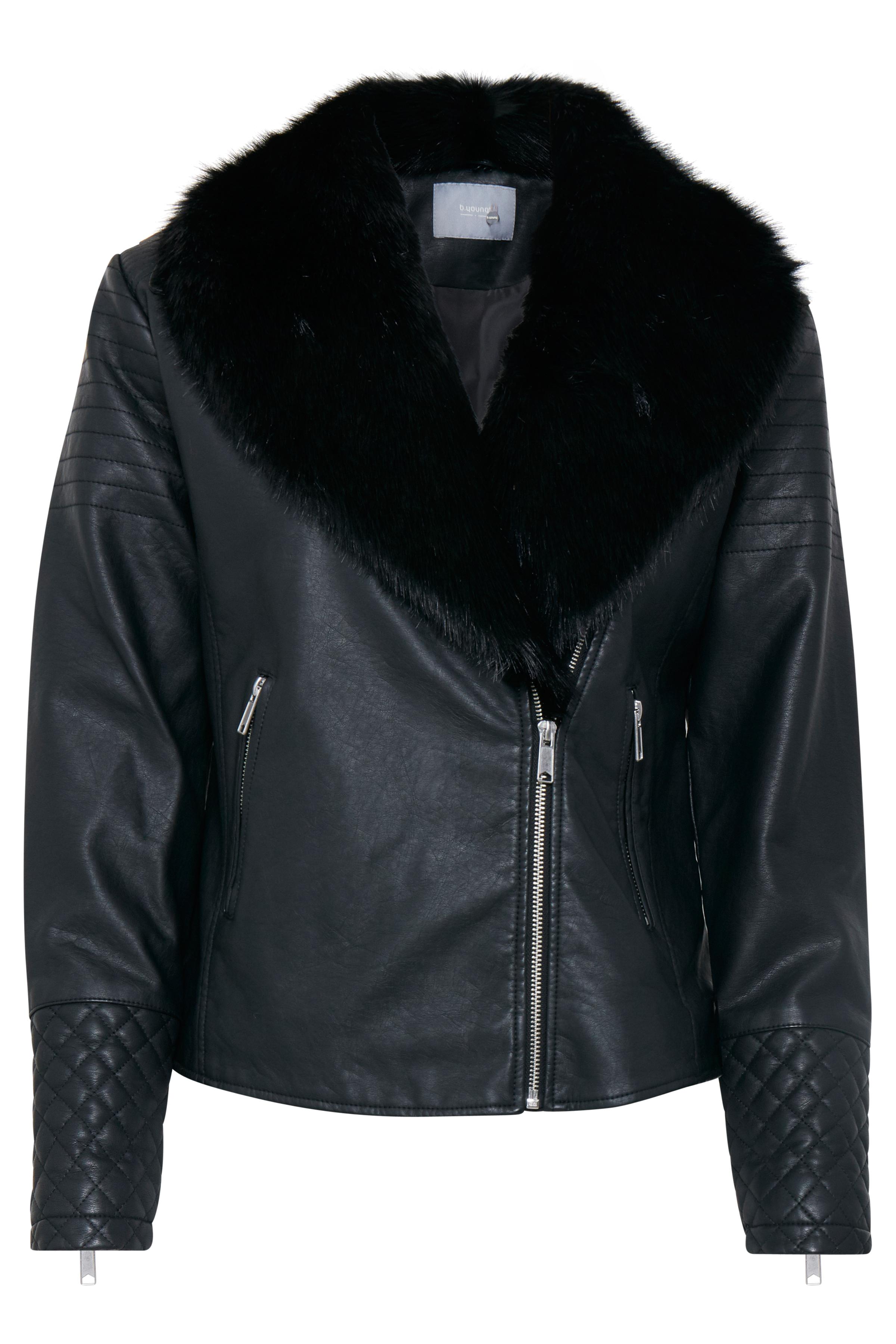 Black Jacke von b.young – Kaufen Sie Black Jacke aus Größe 34-42 hier