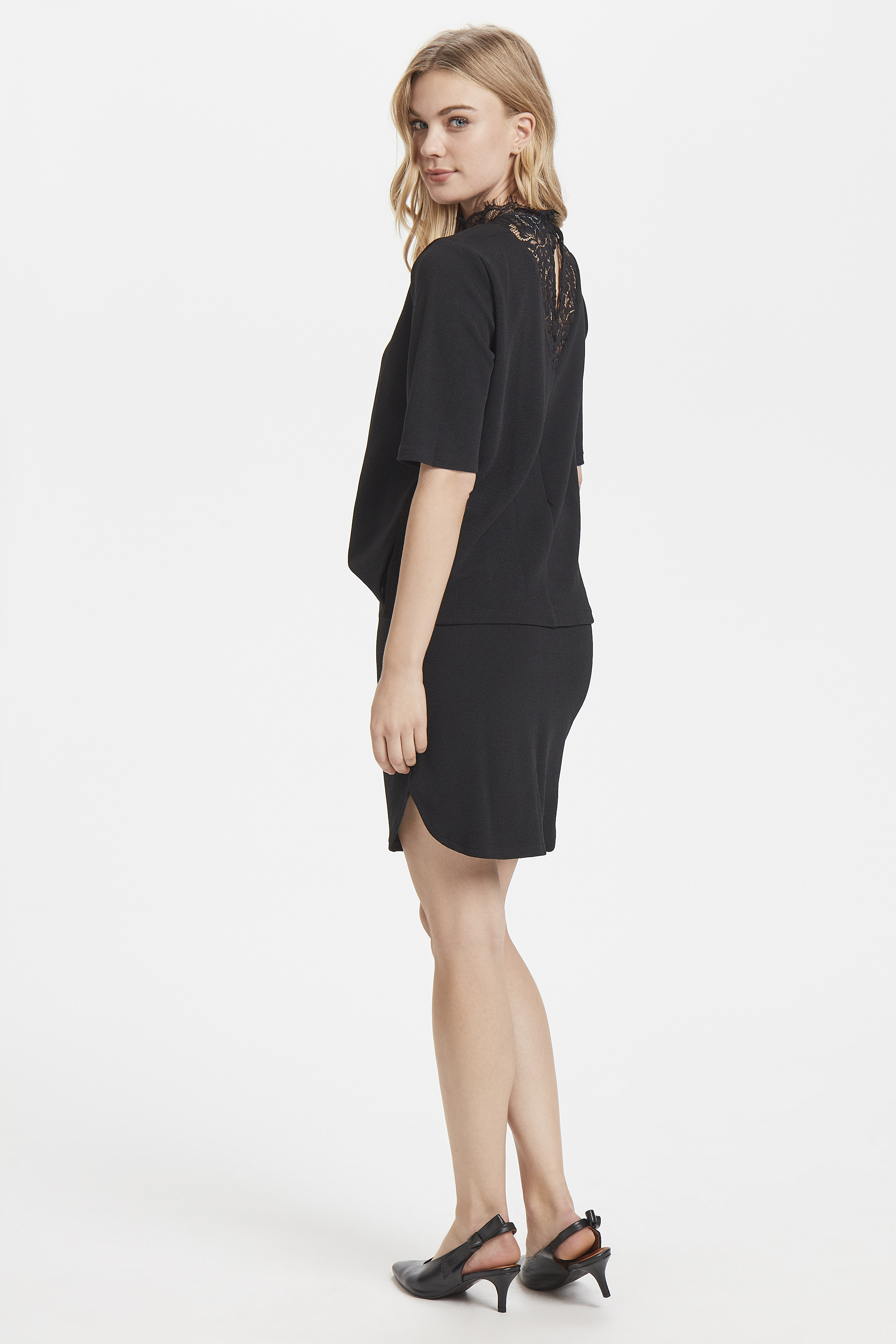 Black Jersey dress from b.young – Buy Black Jersey dress from size XS-XL here