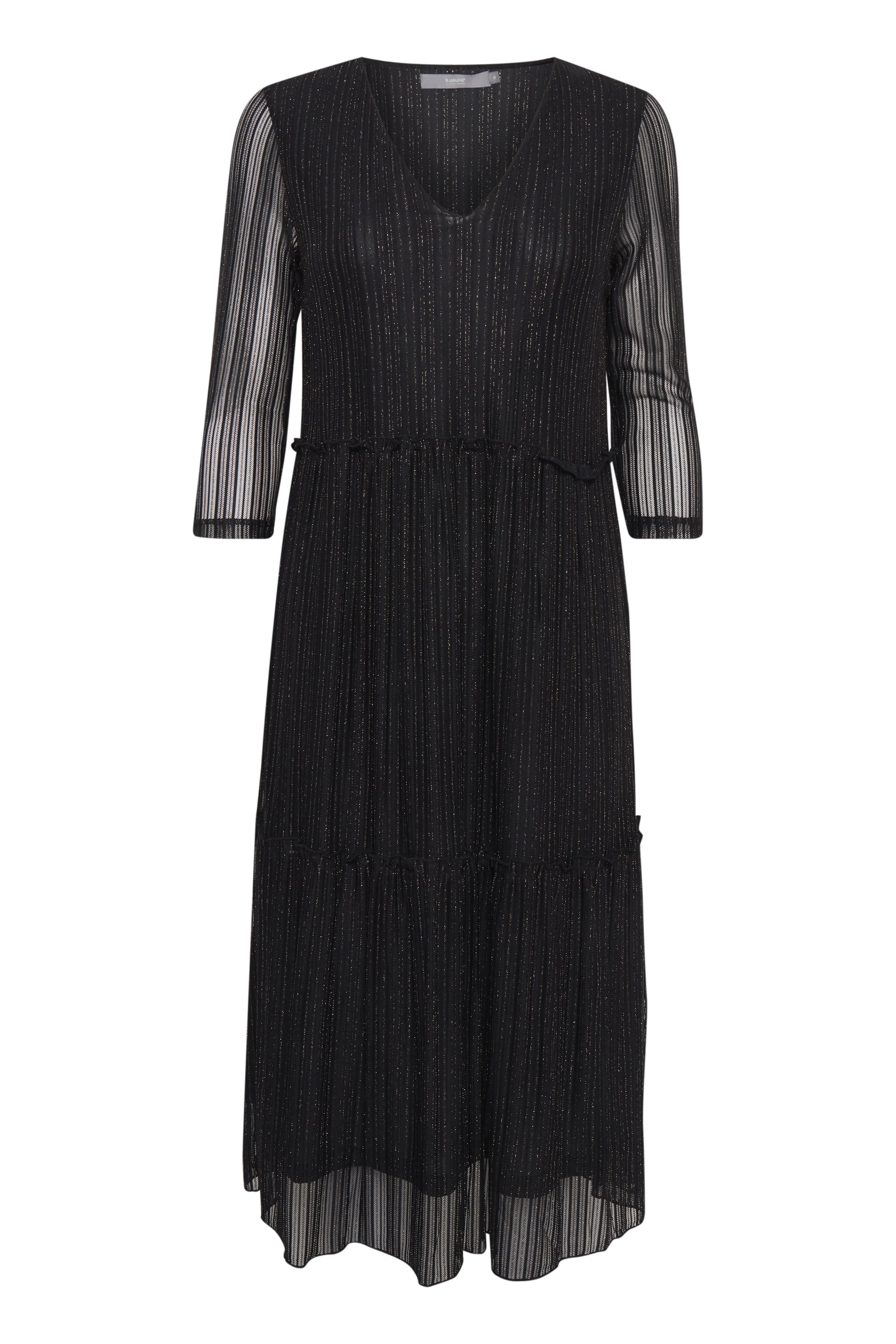 Black Jerseykjole fra b.young – Køb Black Jerseykjole fra str. S-XXL her
