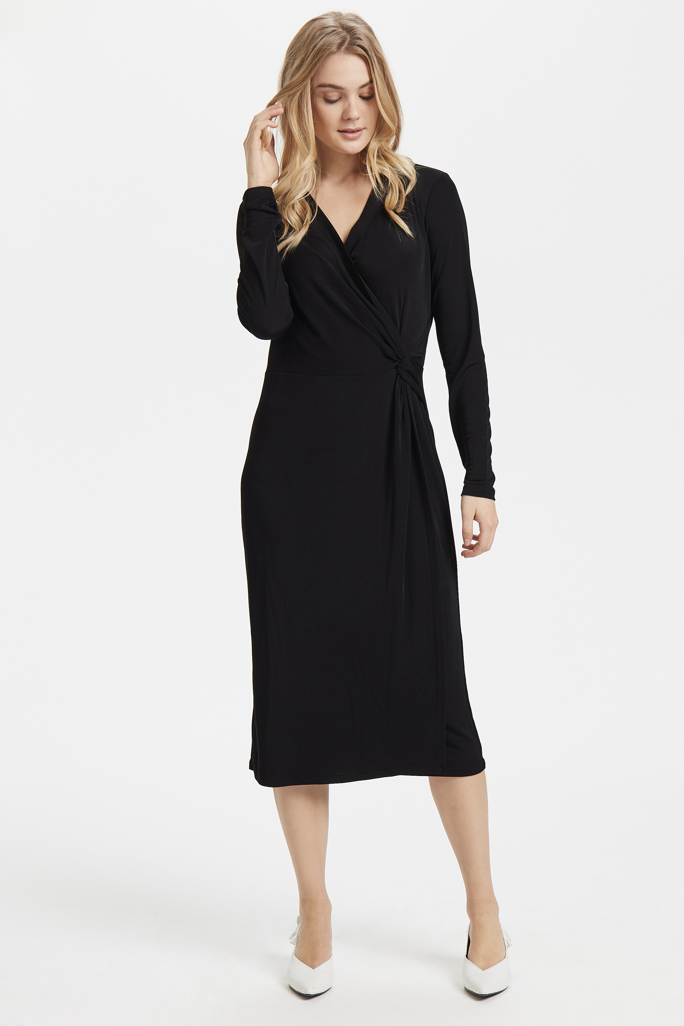 Black Jerseykleid von b.young – Kaufen Sie Black Jerseykleid aus Größe S-XXL hier