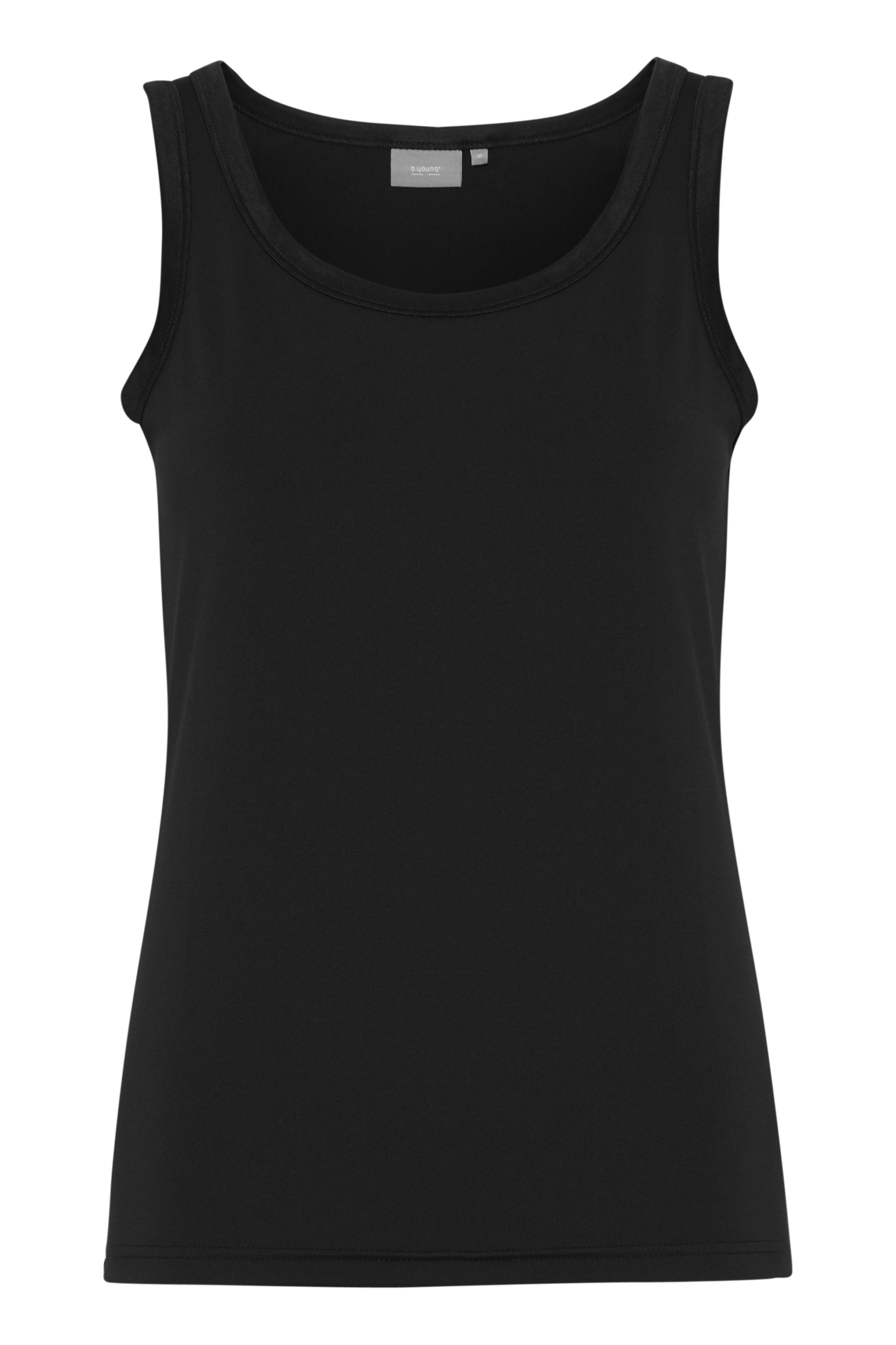 Black Jerseytop fra b.young – Køb Black Jerseytop fra str. XS-XXL her
