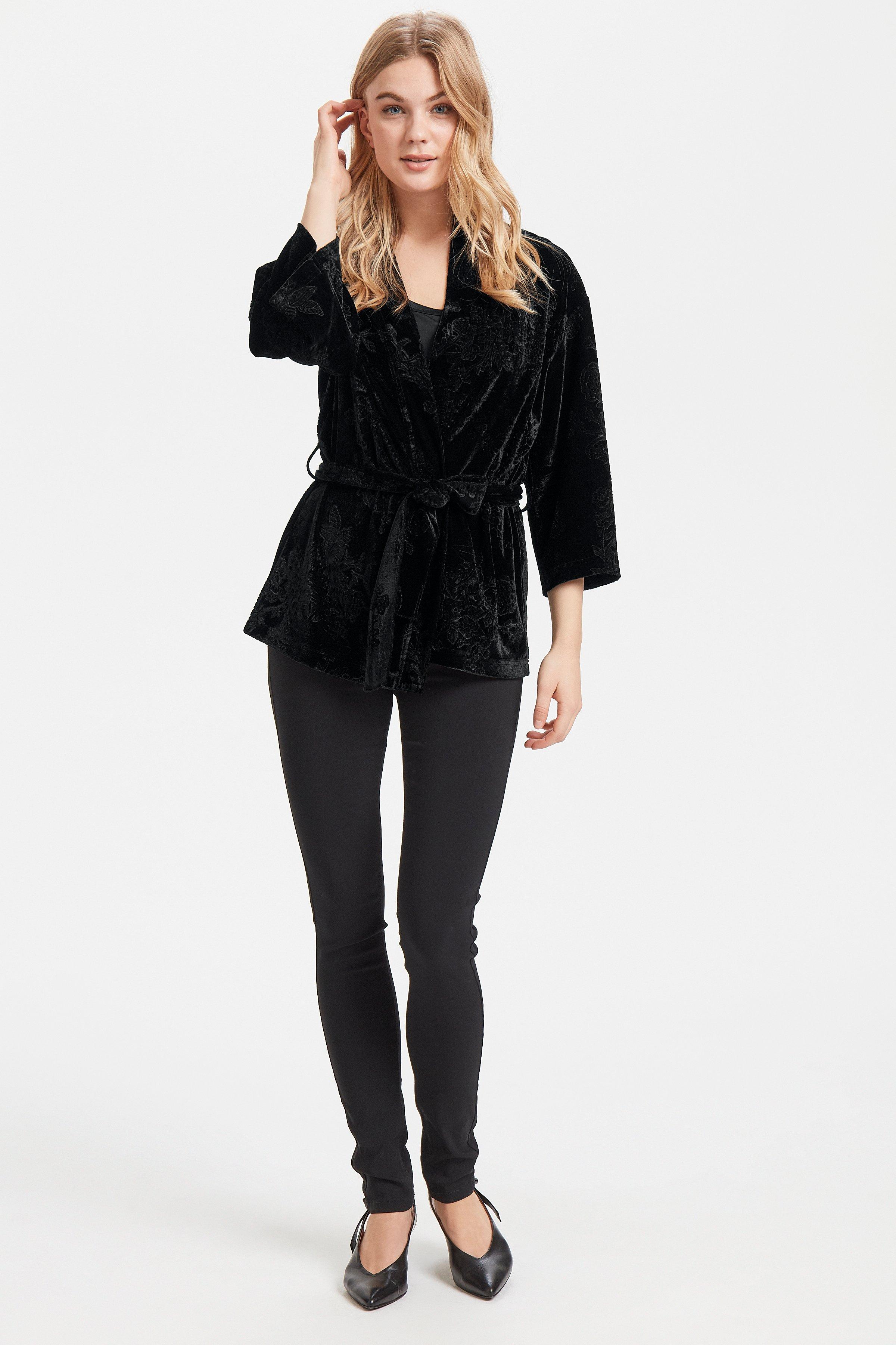 Black Kimono fra b.young - Kjøp Black Kimono fra størrelse XS-XXL her