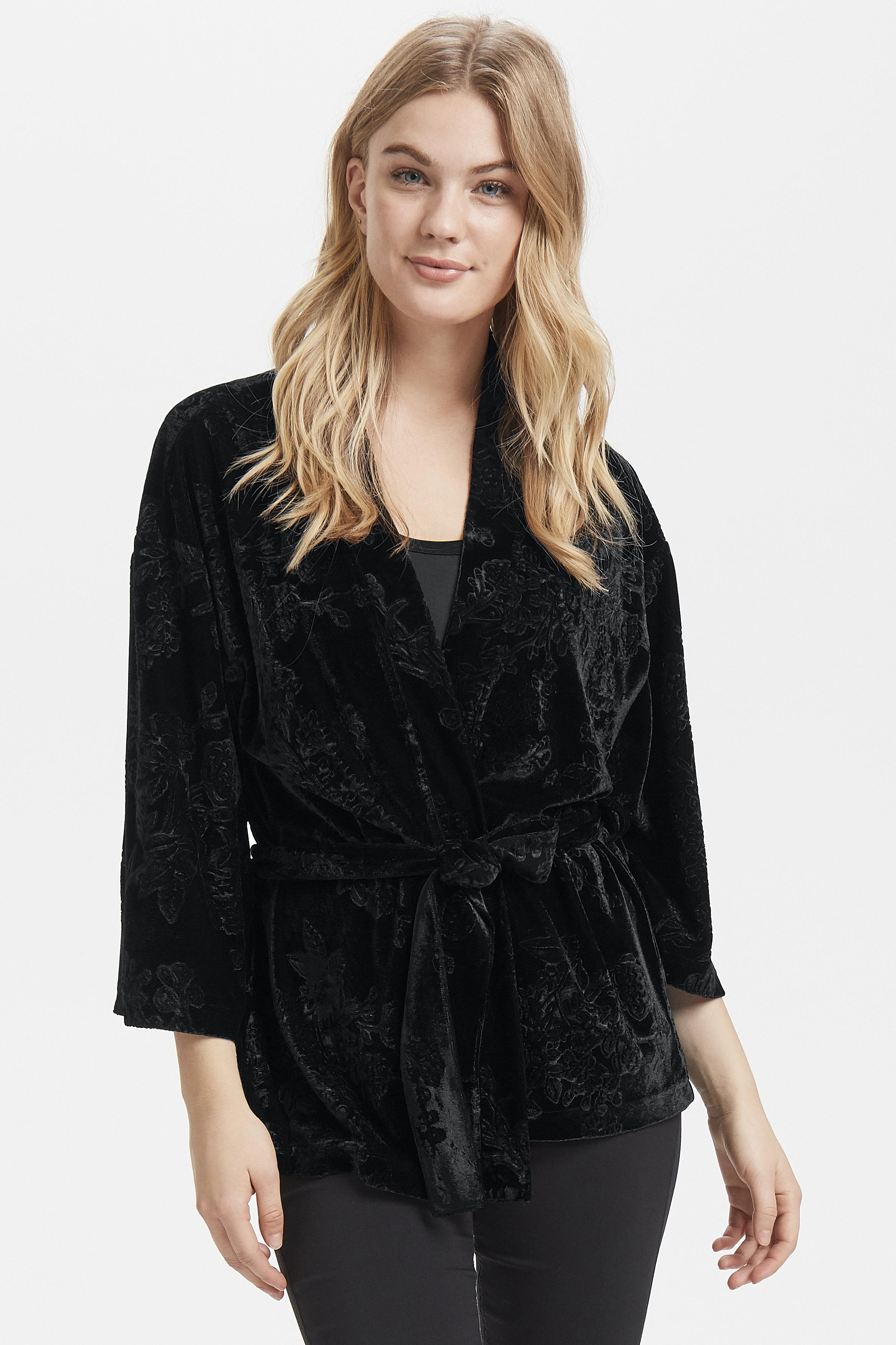 Black Kimono van b.young – Koop Black Kimono hier van size XS-XXL