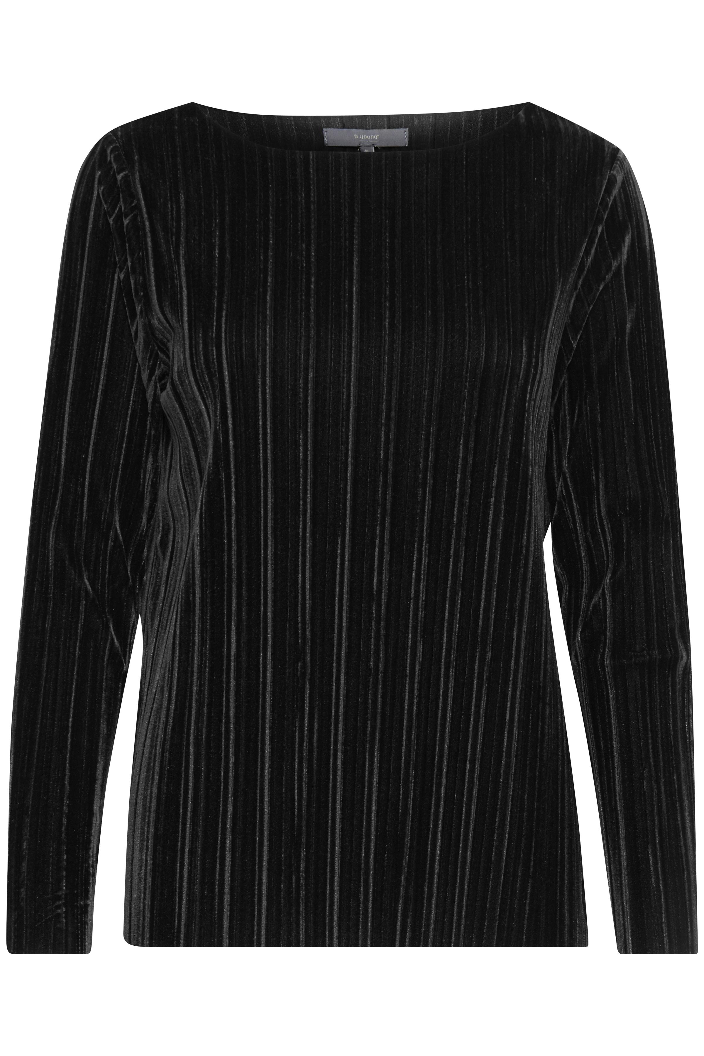 Black Långärmed T-shirt från b.young – Köp Black Långärmed T-shirt från storlek S-XXL här