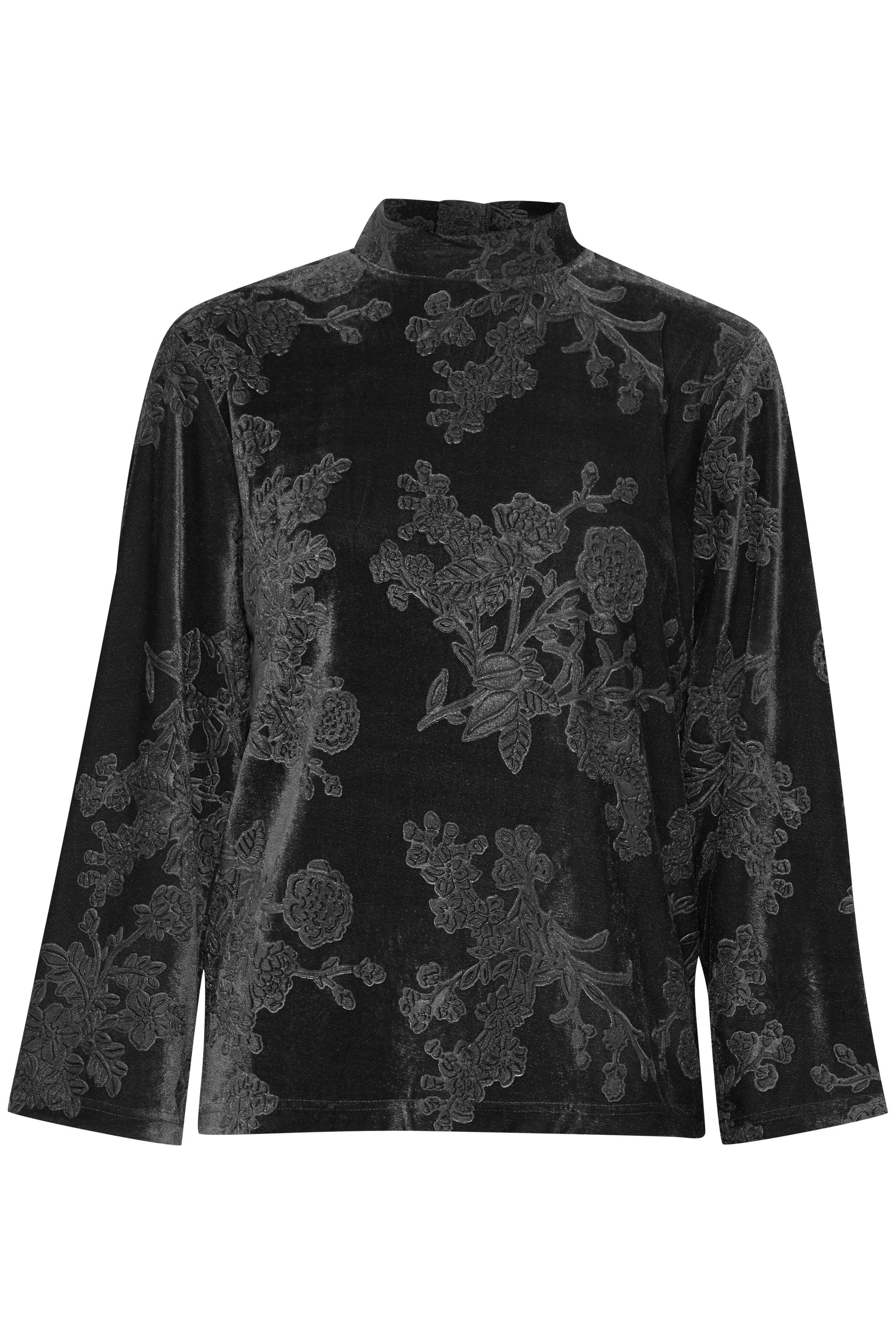 Black Langærmet bluse fra b.young – Køb Black Langærmet bluse fra str. XS-XXL her
