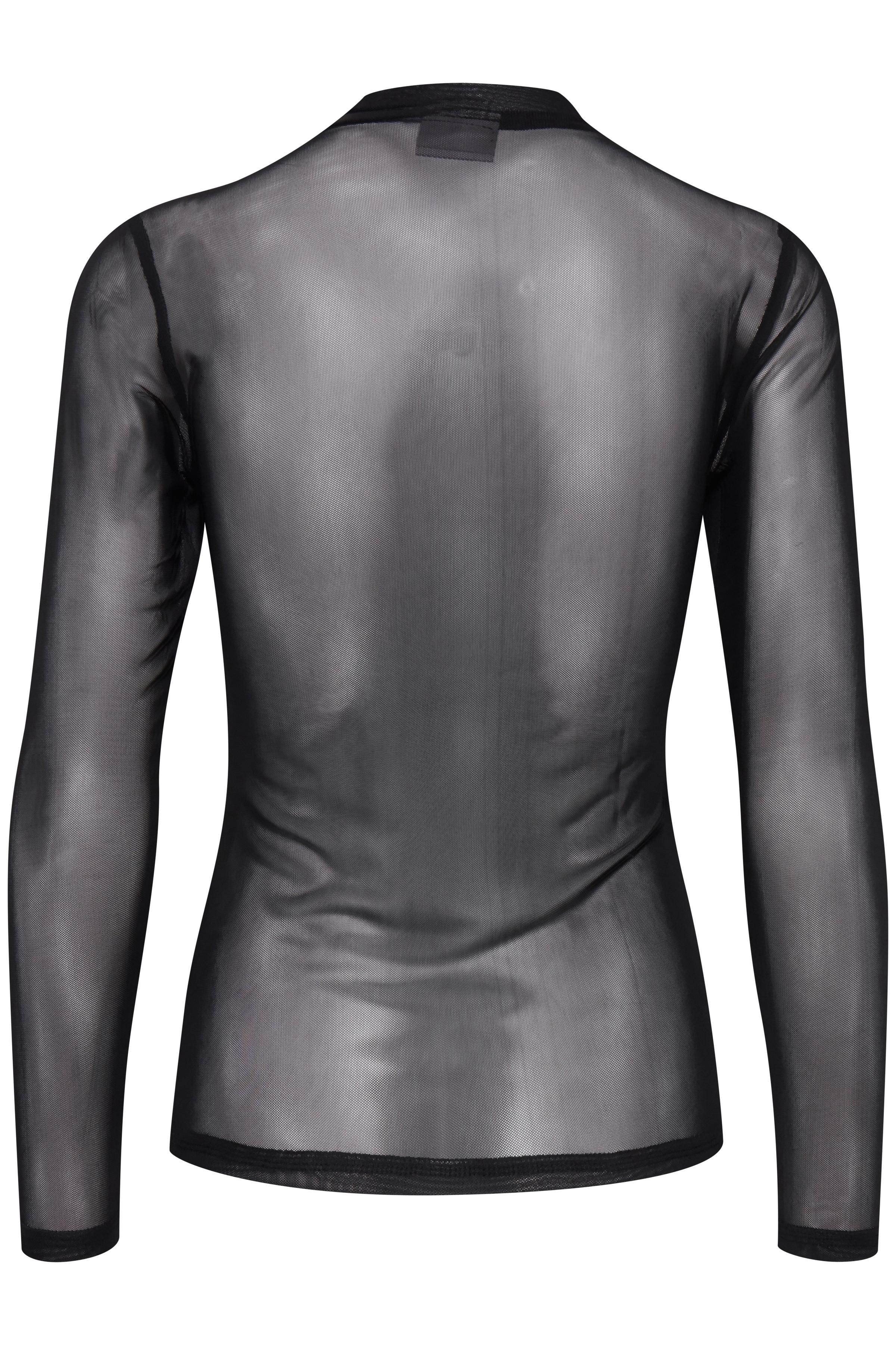 Black Langærmet bluse fra b.young – Køb Black Langærmet bluse fra str. S-XL her