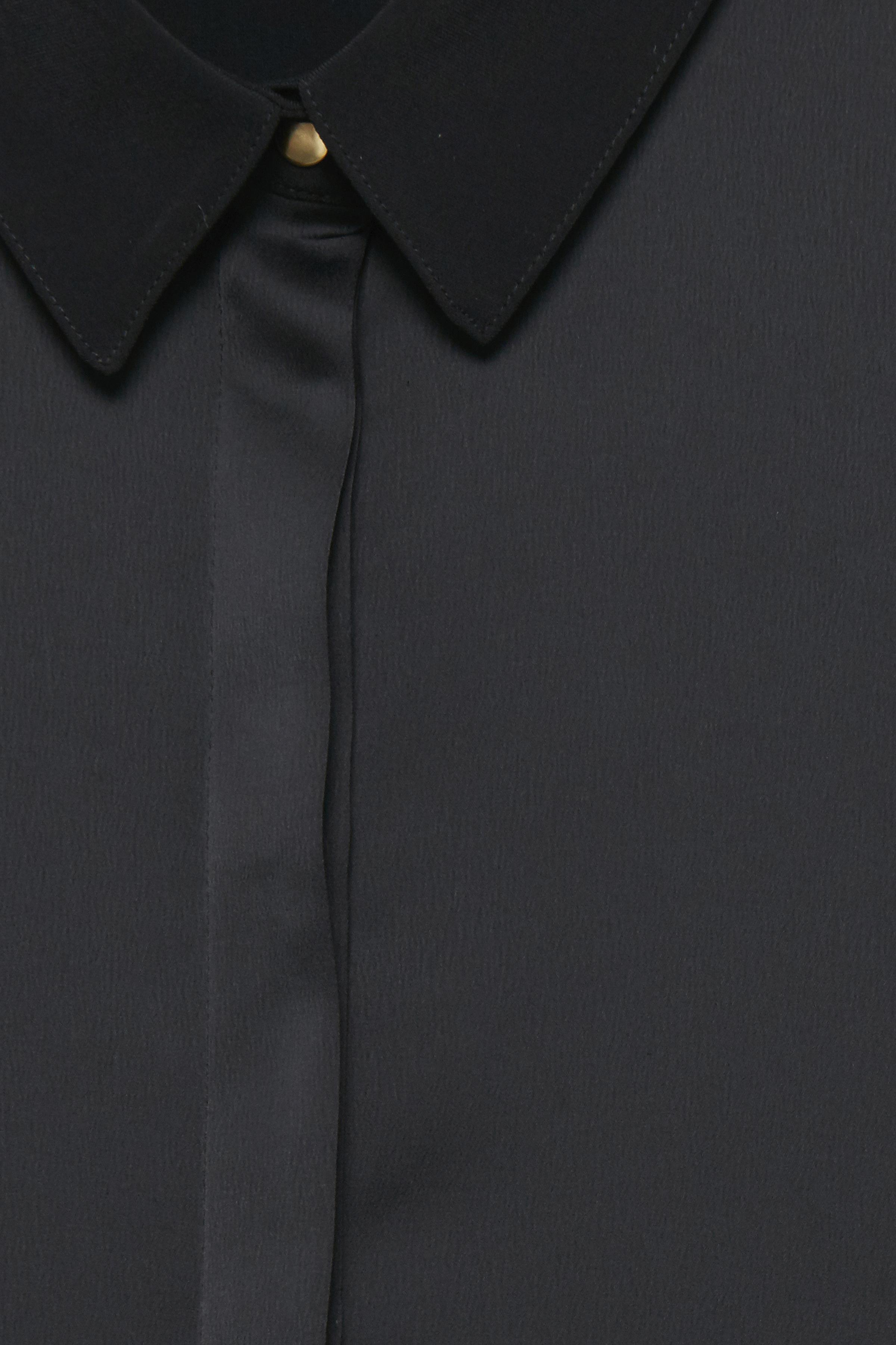 Black Langærmet skjorte fra b.young – Køb Black Langærmet skjorte fra str. 36-46 her