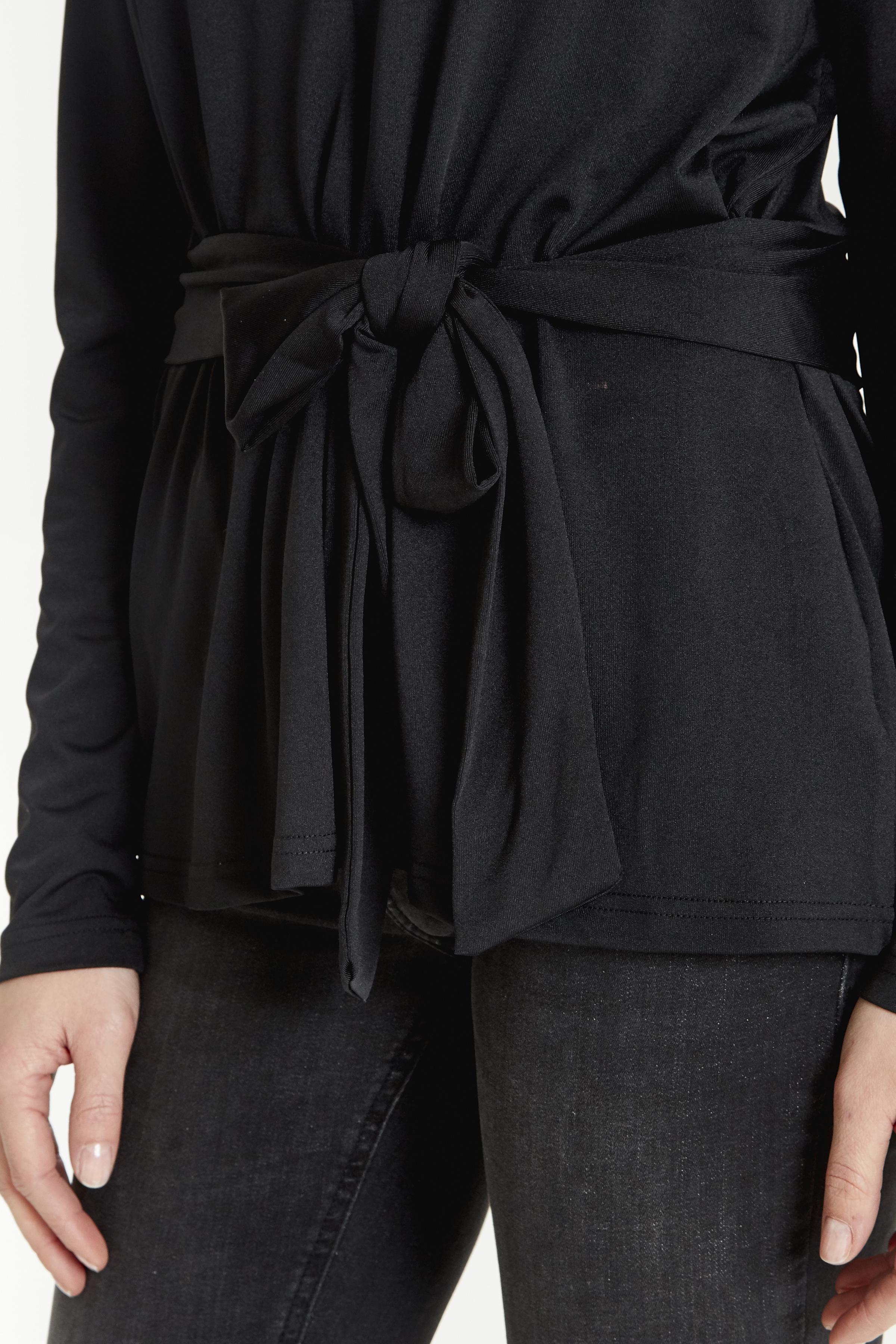 Black Langarm-Bluse von b.young – Kaufen Sie Black Langarm-Bluse aus Größe XS-XXL hier