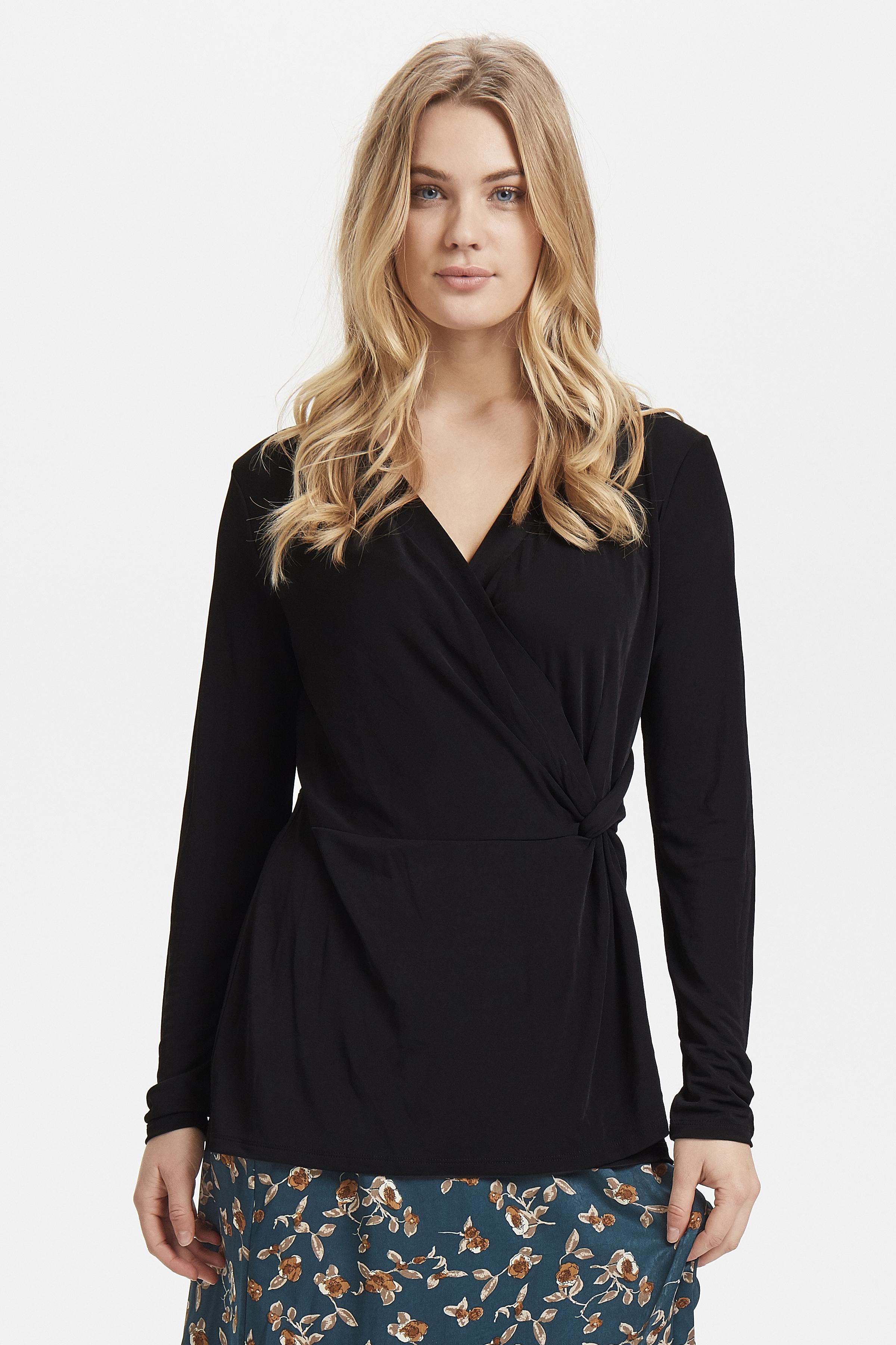 Black Langarm-Shirt von b.young – Kaufen Sie Black Langarm-Shirt aus Größe XS-XL hier