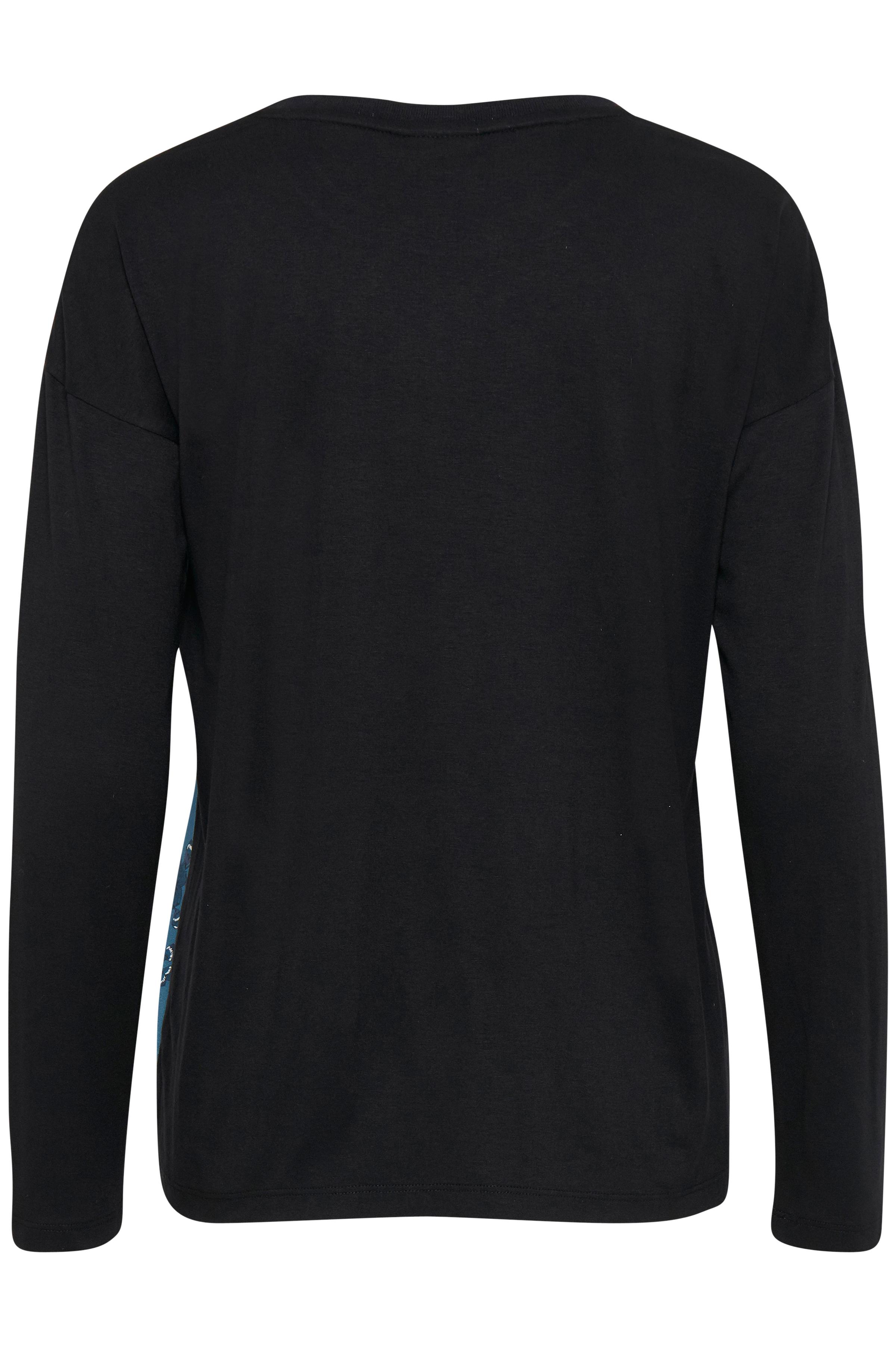 Black Langermet T-shirt fra b.young - Kjøp Black Langermet T-shirt fra størrelse XS-XXL her