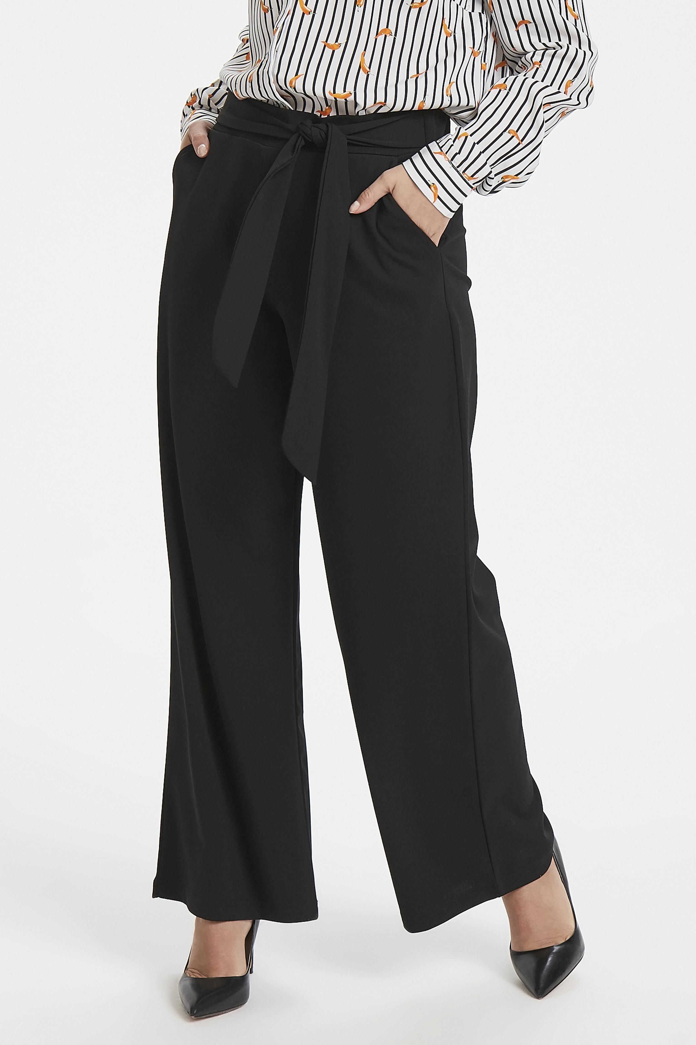 Black Pants Casual fra b.young – Køb Black Pants Casual fra str. XS-XXL her