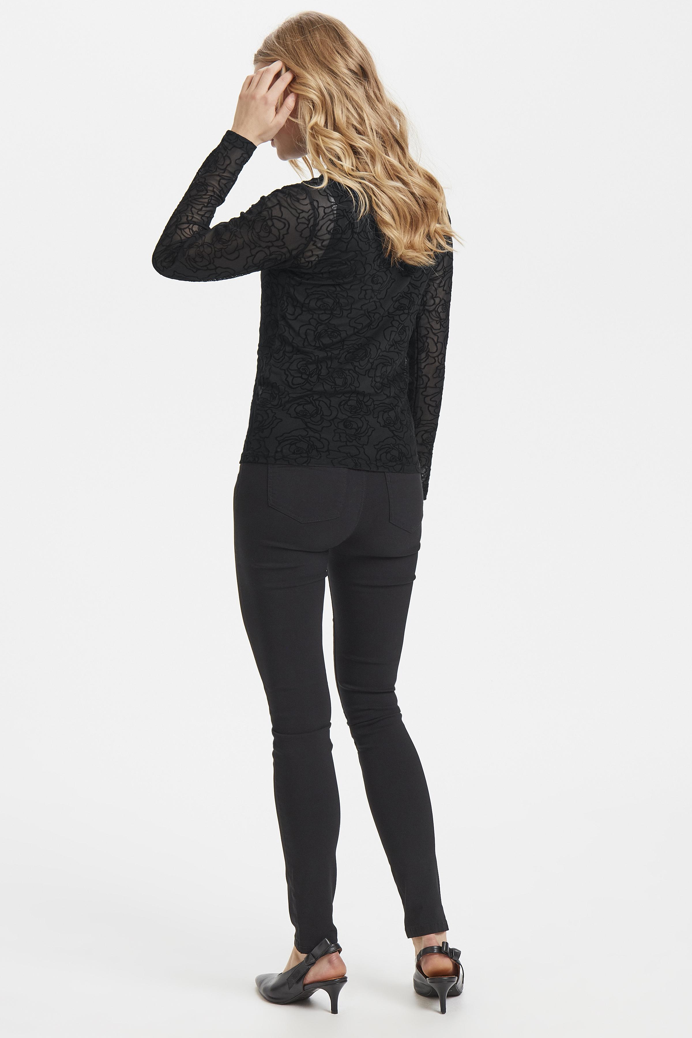 Black rose Combi 2 Blouse met lange mouwen van b.young – Koop Black rose Combi 2 Blouse met lange mouwen hier van size XS-XXL