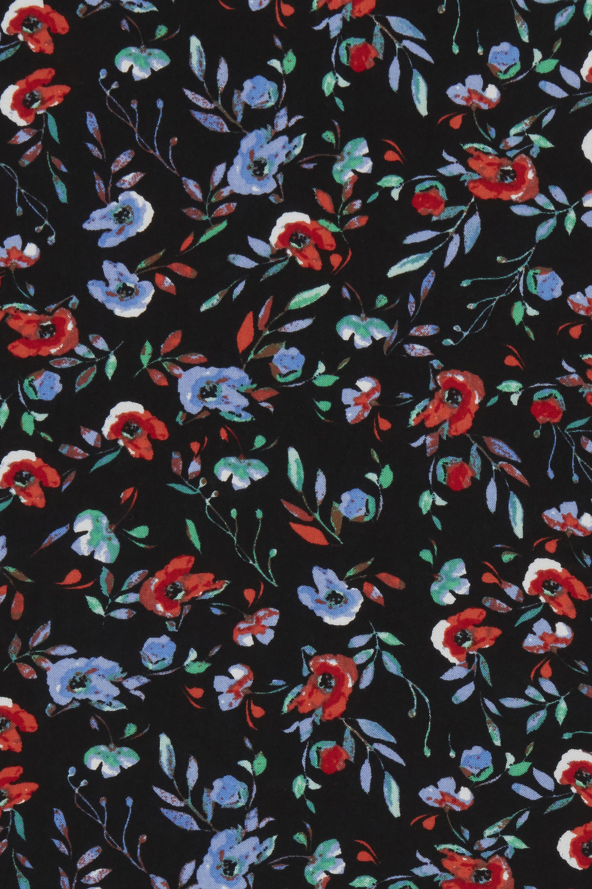 Black small flower combi 3 Kortærmet bluse fra b.young – Køb Black small flower combi 3 Kortærmet bluse fra str. 34-46 her