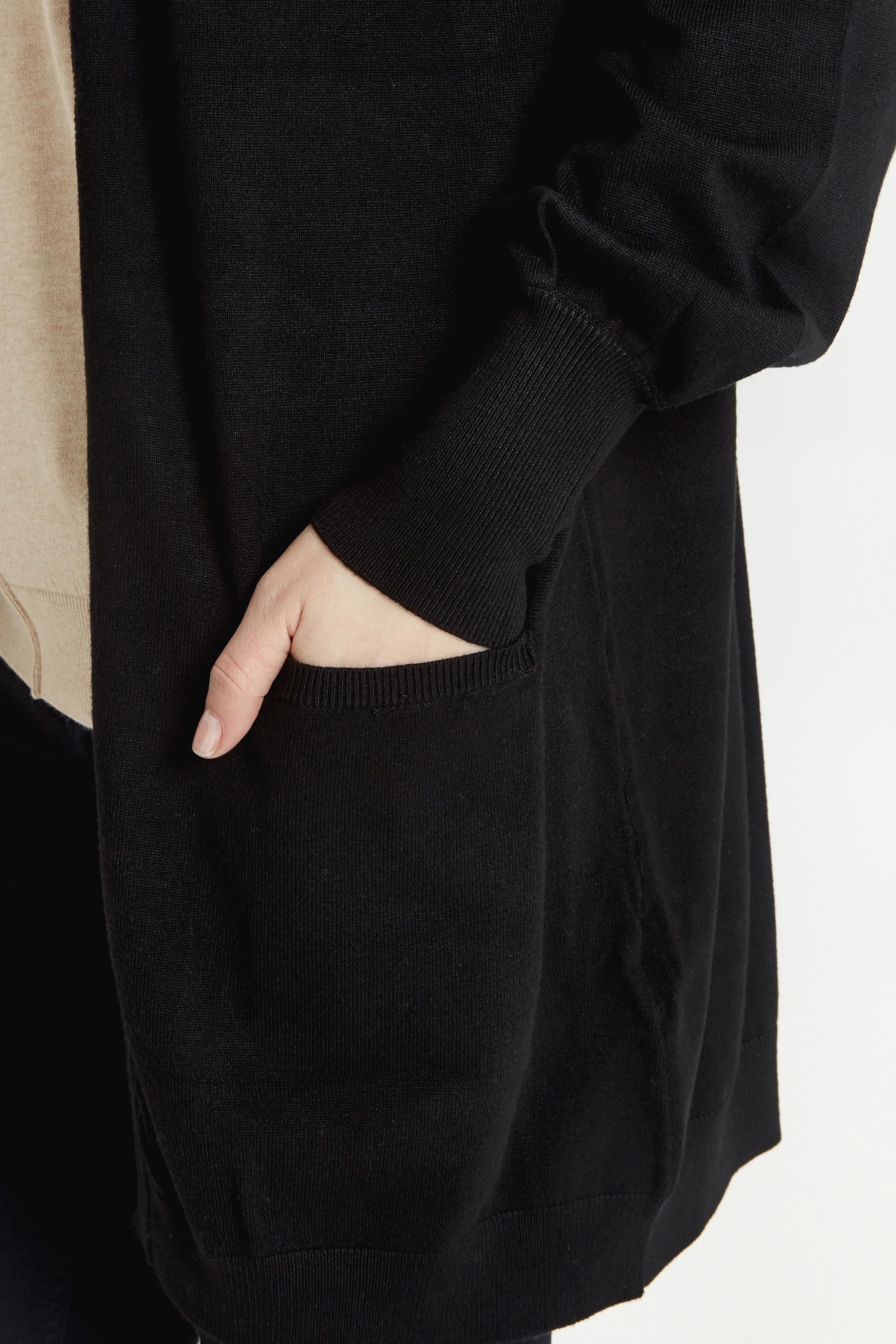Black Strickpullover von b.young – Kaufen Sie Black Strickpullover aus Größe XS-XXL hier