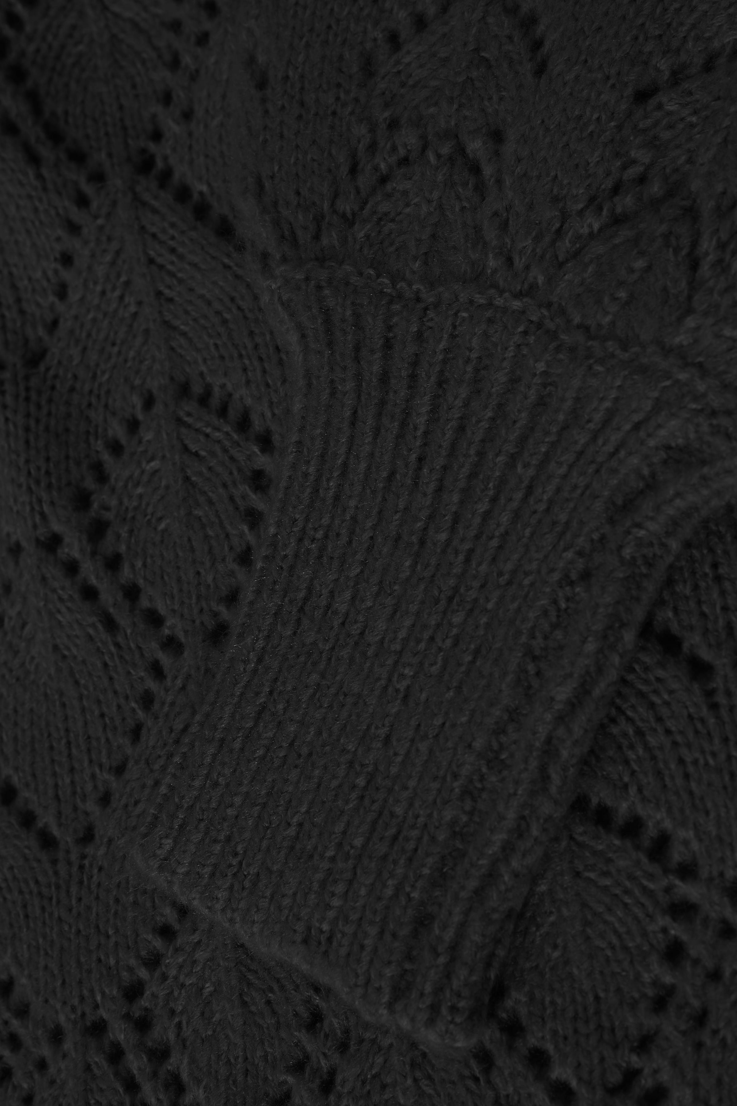 Black Strikket pullover fra b.young - Kjøp Black Strikket pullover fra størrelse XS-XXL her