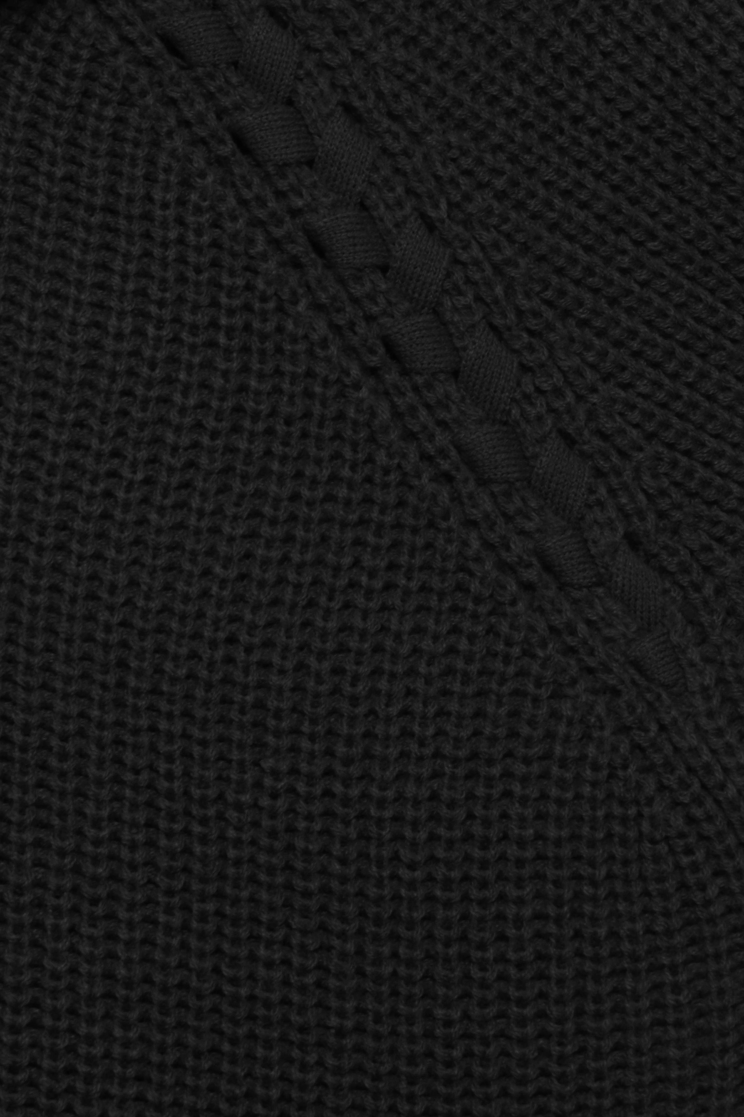 Black Strikpullover fra b.young – Køb Black Strikpullover fra str. XS-XXL her