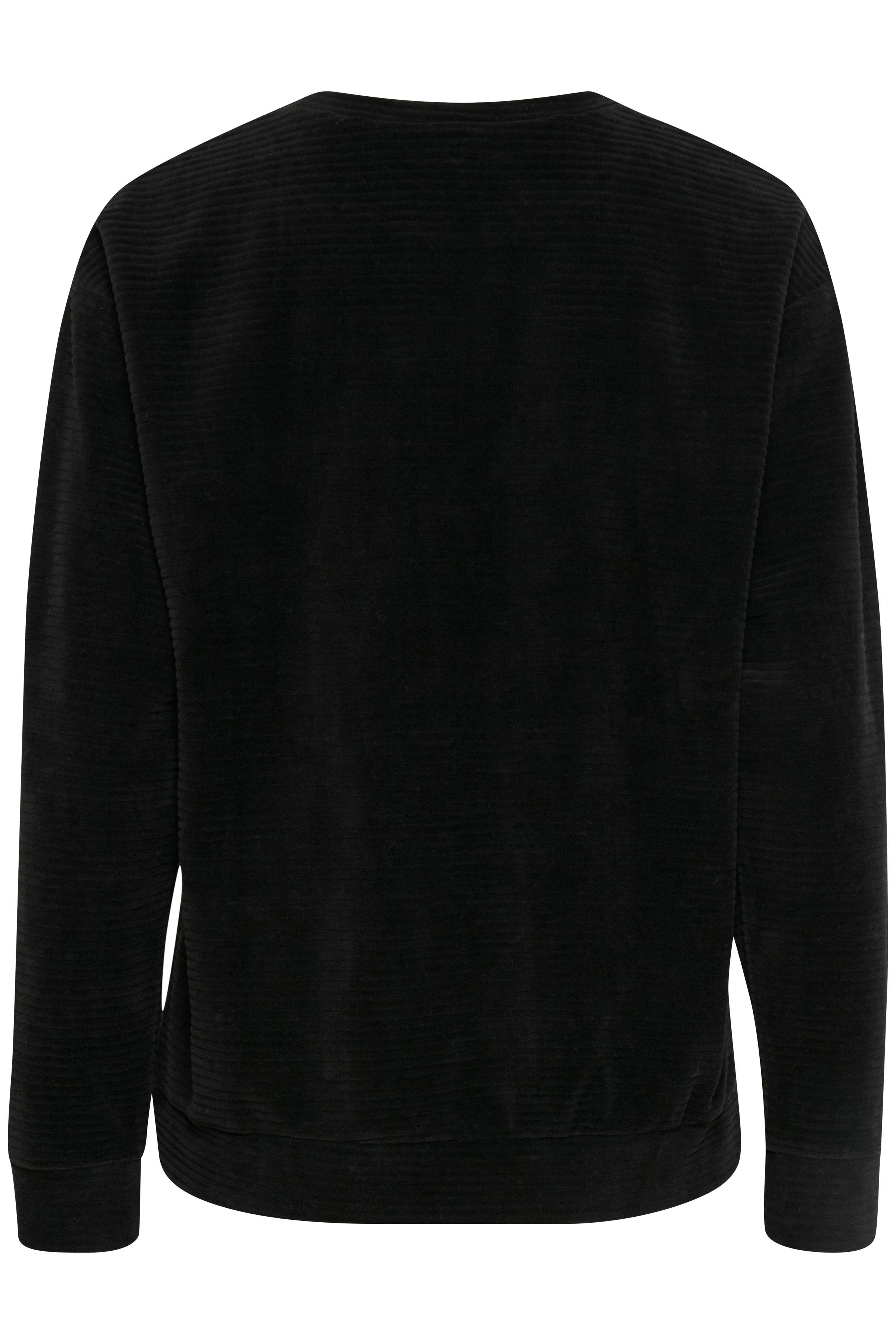 Black Strikpullover fra b.young – Køb Black Strikpullover fra str. XS-L her