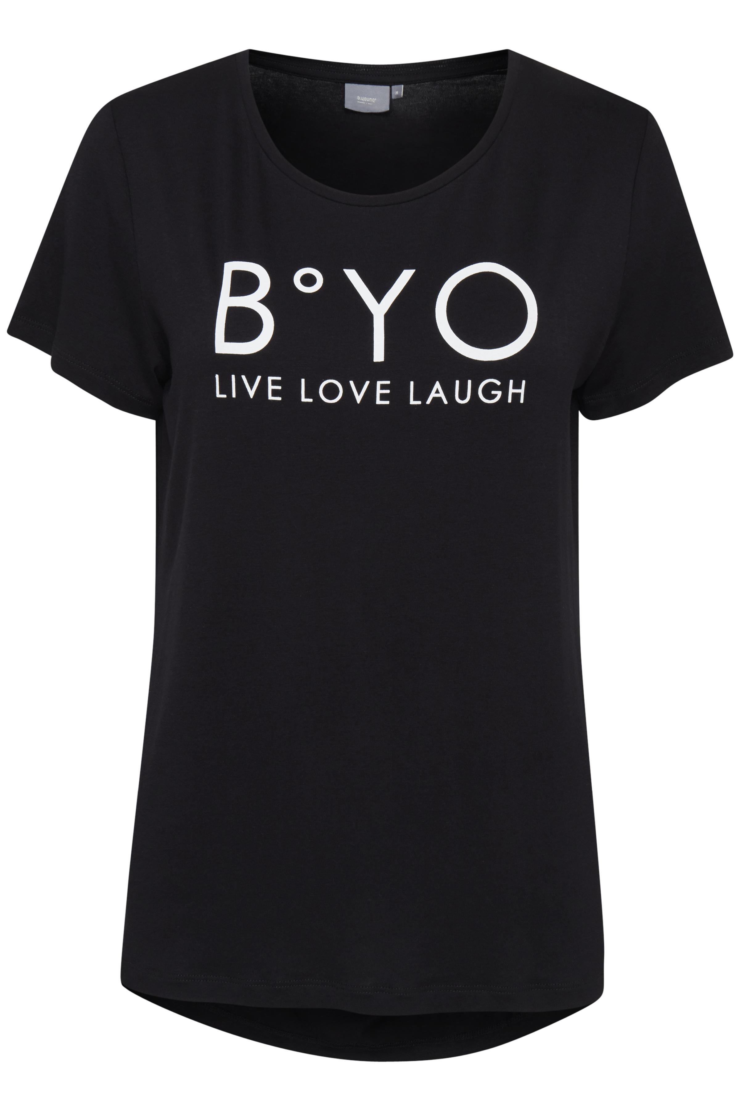 Black T-shirt von b.young – Kaufen Sie Black T-shirt aus Größe XS-XL hier