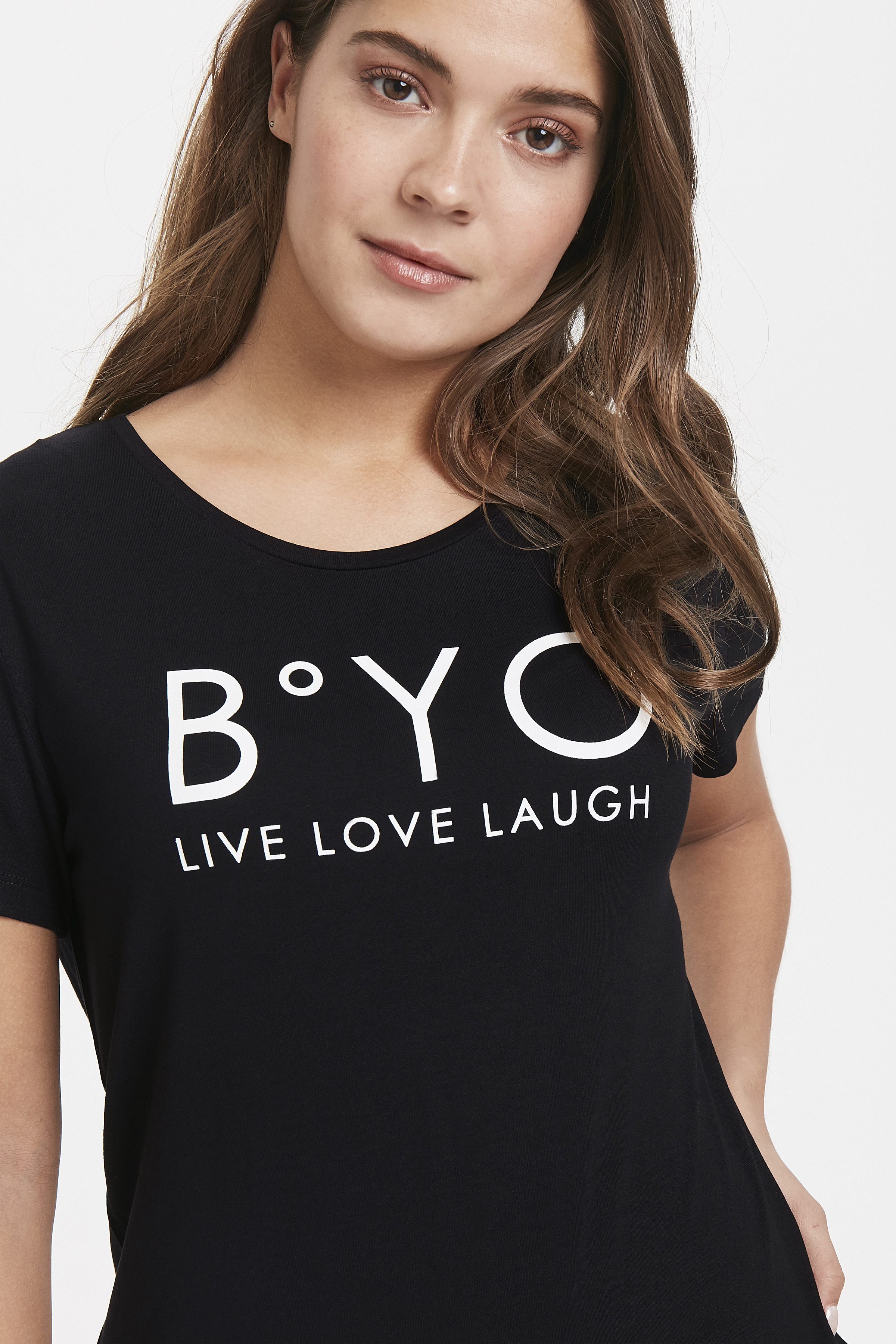 Black T-shirt from b.young – Buy Black T-shirt from size XS-XL here