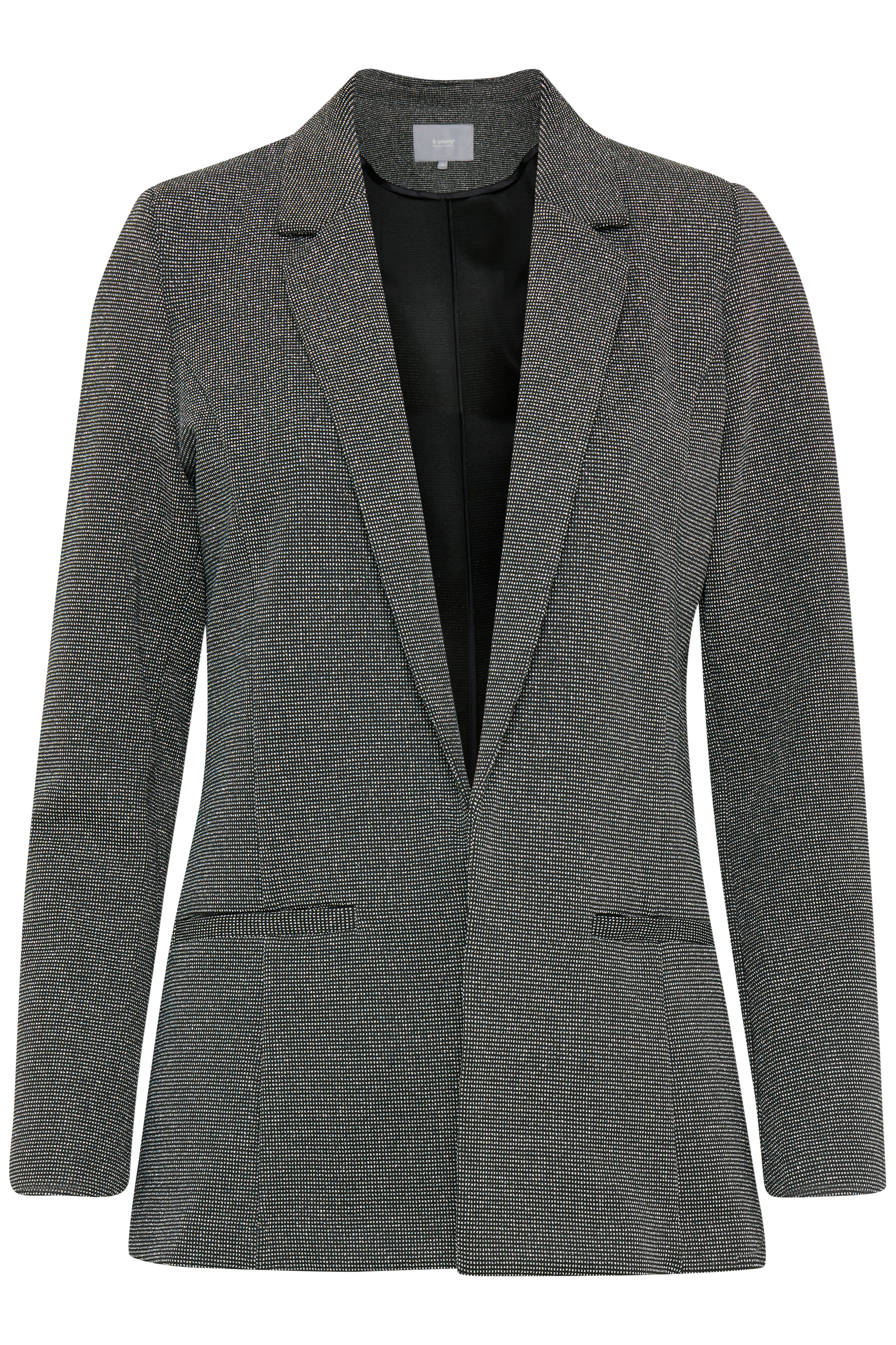 Black w. silver Blazer från b.young – Köp Black w. silver Blazer från storlek 34-46 här
