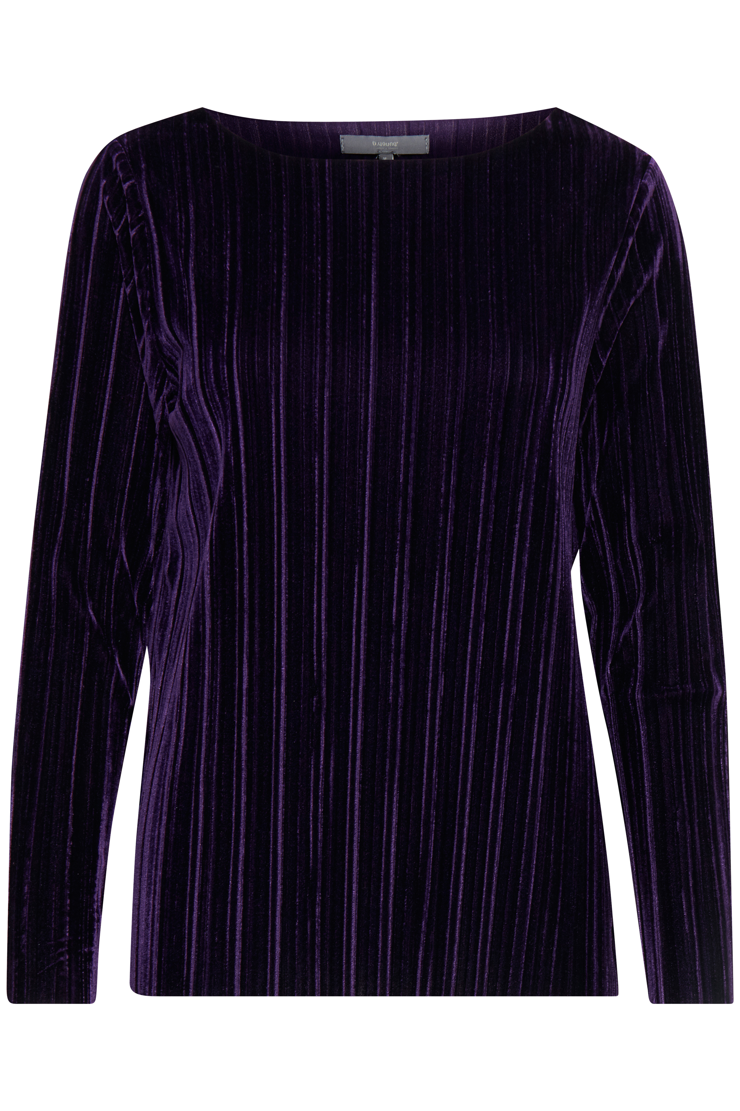 Blackberry Purple Langærmet T-shirt fra b.young – Køb Blackberry Purple Langærmet T-shirt fra str. S-XXL her