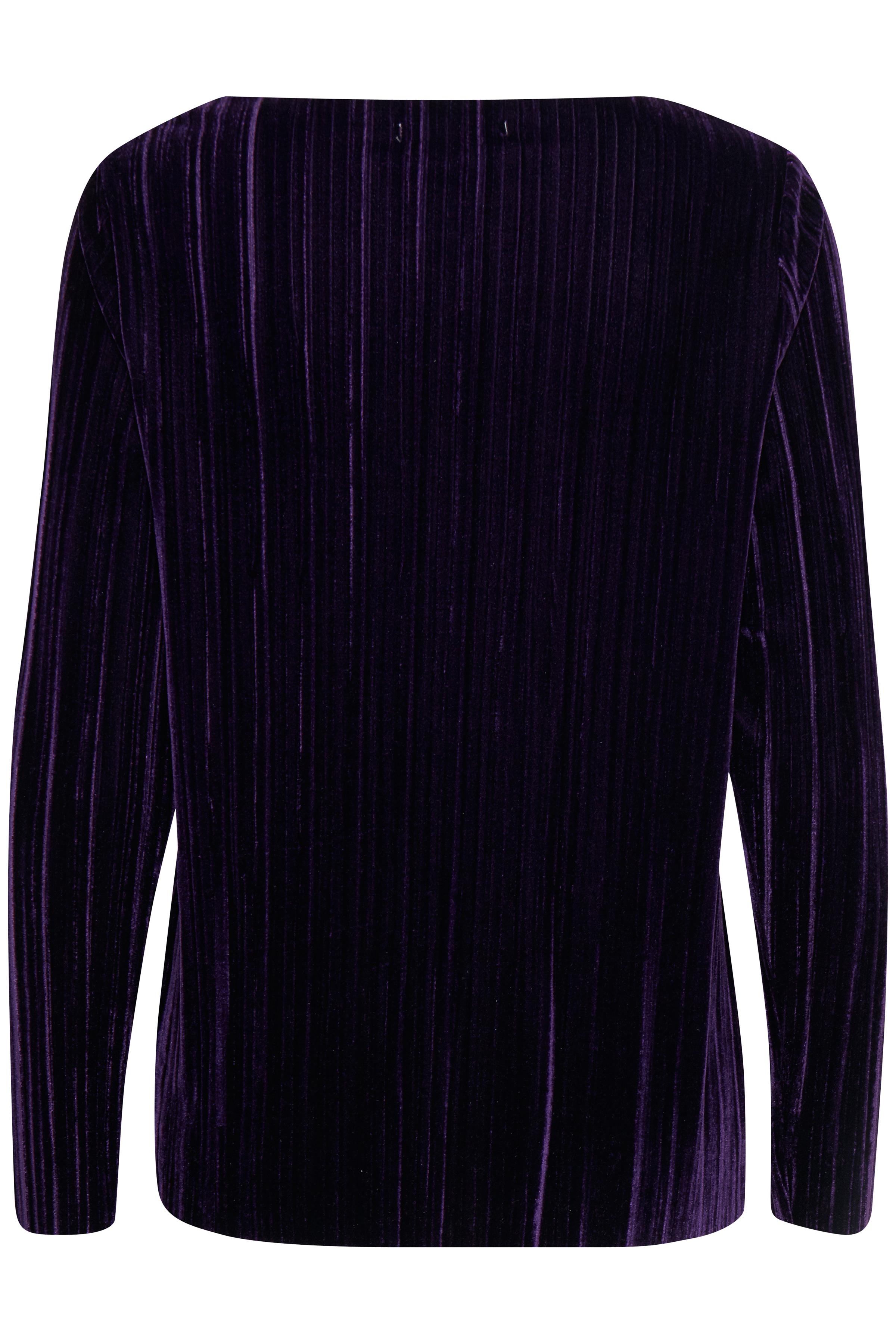 Blackberry Purple Langarm-Shirt von b.young – Kaufen Sie Blackberry Purple Langarm-Shirt aus Größe S-XXL hier