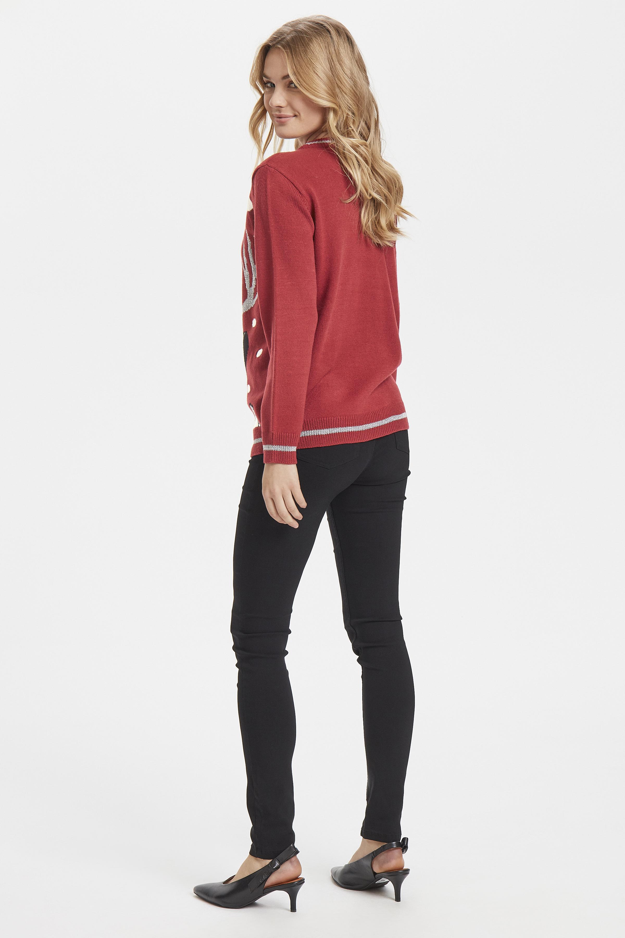 Blood Red Combi 1 Stickad pullover från b.young – Köp Blood Red Combi 1 Stickad pullover från storlek XS-XXL här