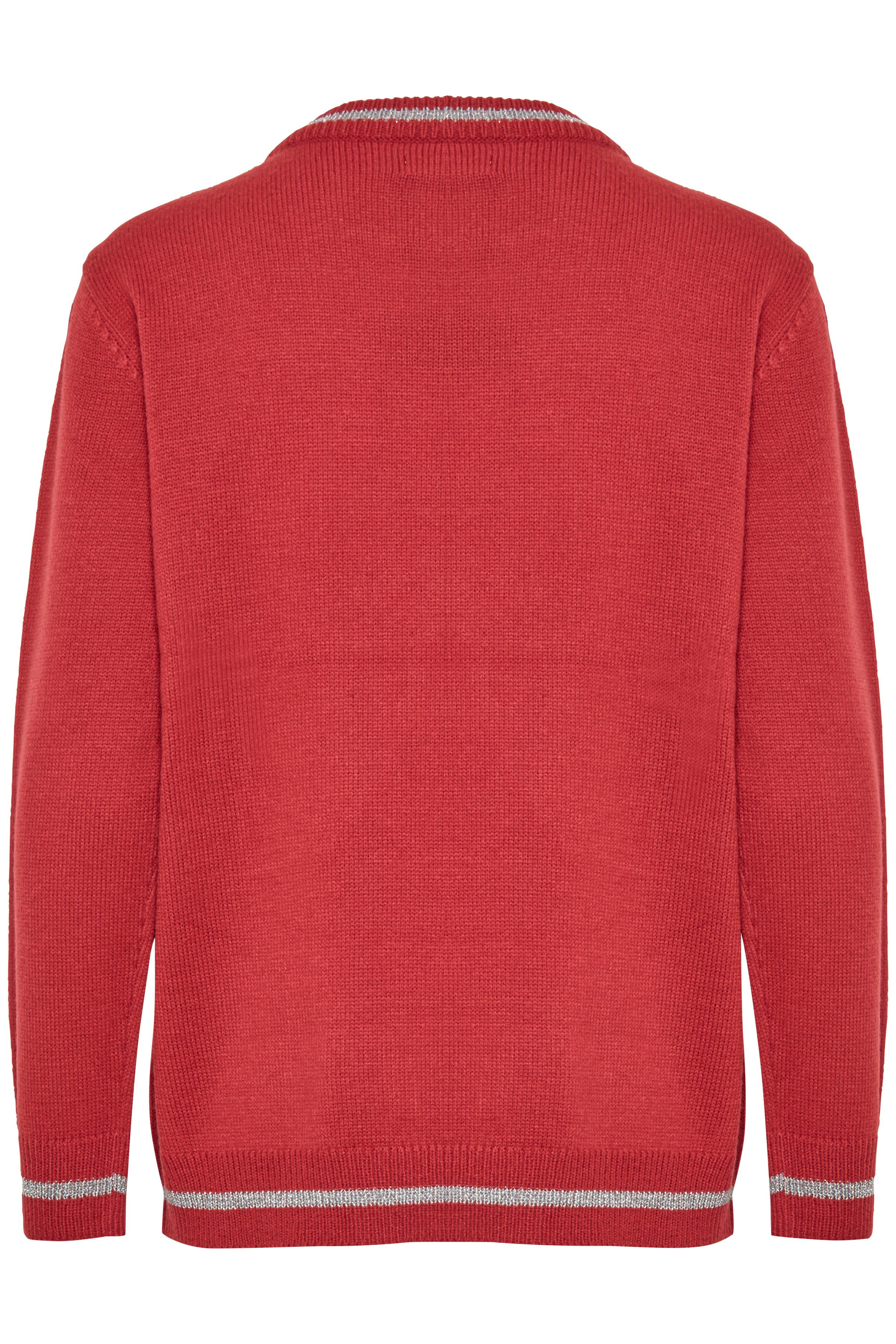 Blood Red Combi 1 Strickpullover von b.young – Kaufen Sie Blood Red Combi 1 Strickpullover aus Größe XS-XXL hier