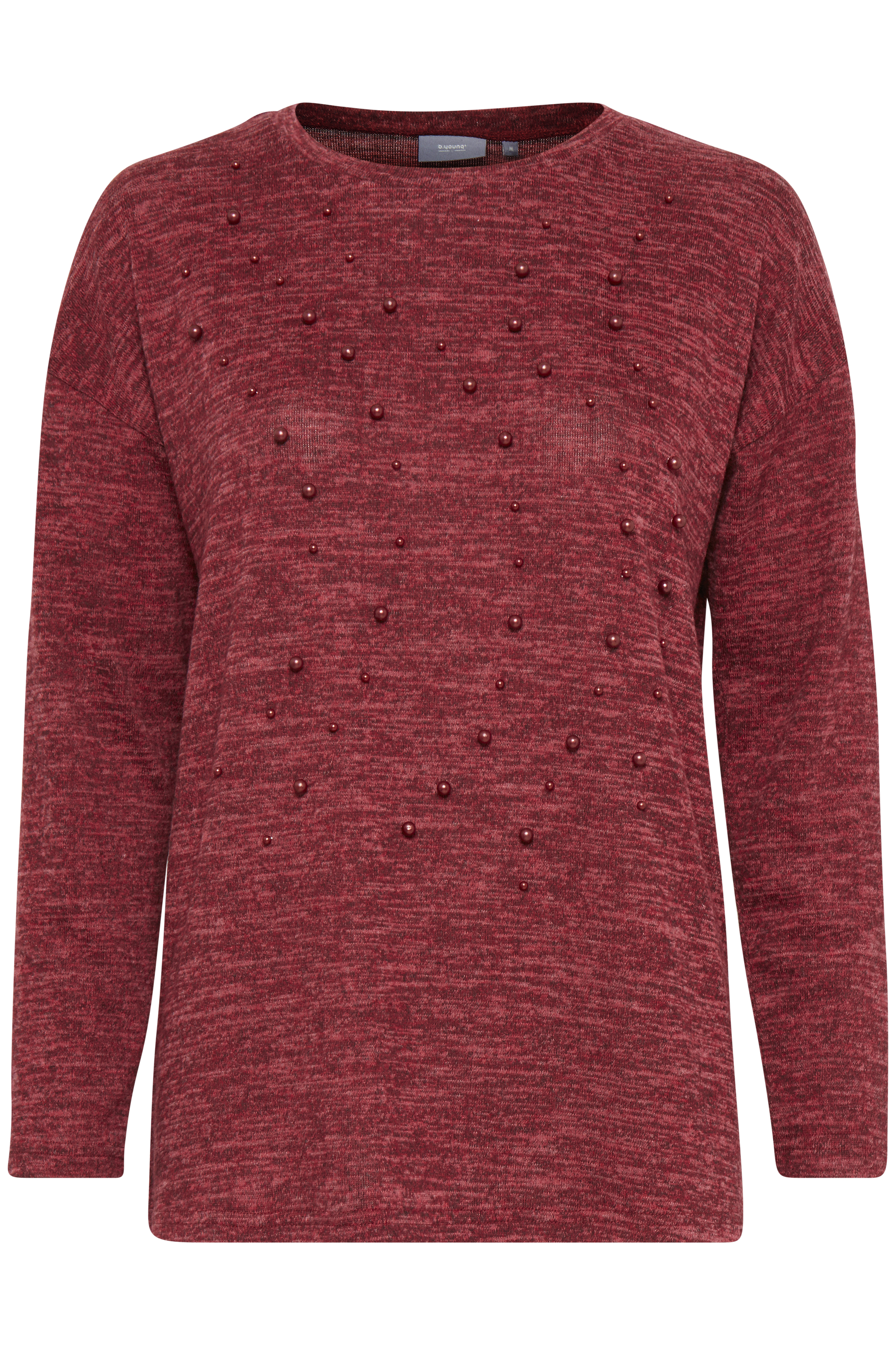 Blood Red melange  from b.young – Buy Blood Red melange  from size XS-XXL here