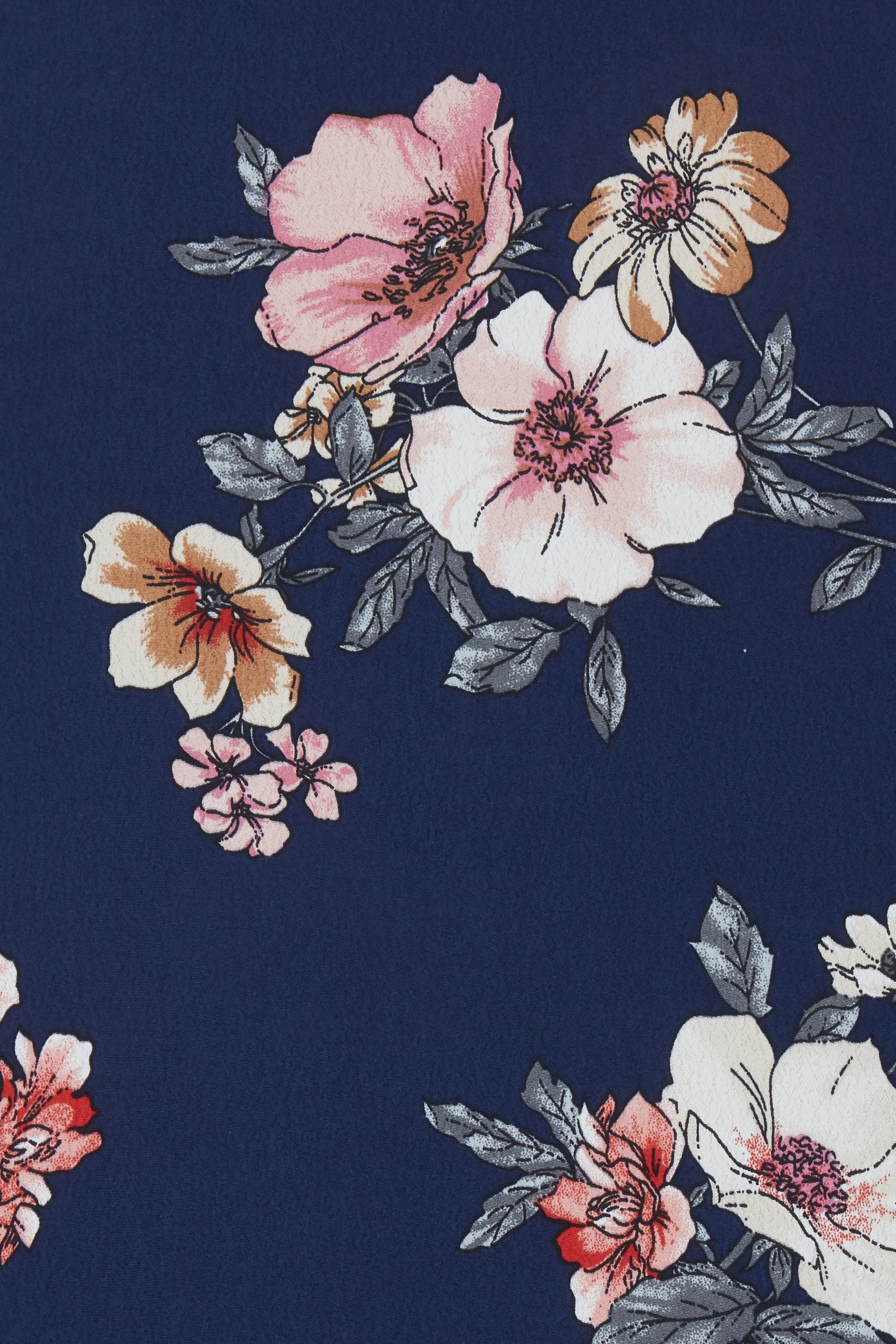 Blue combi 1 Langærmet bluse fra b.young – Køb Blue combi 1 Langærmet bluse fra str. 34-42 her