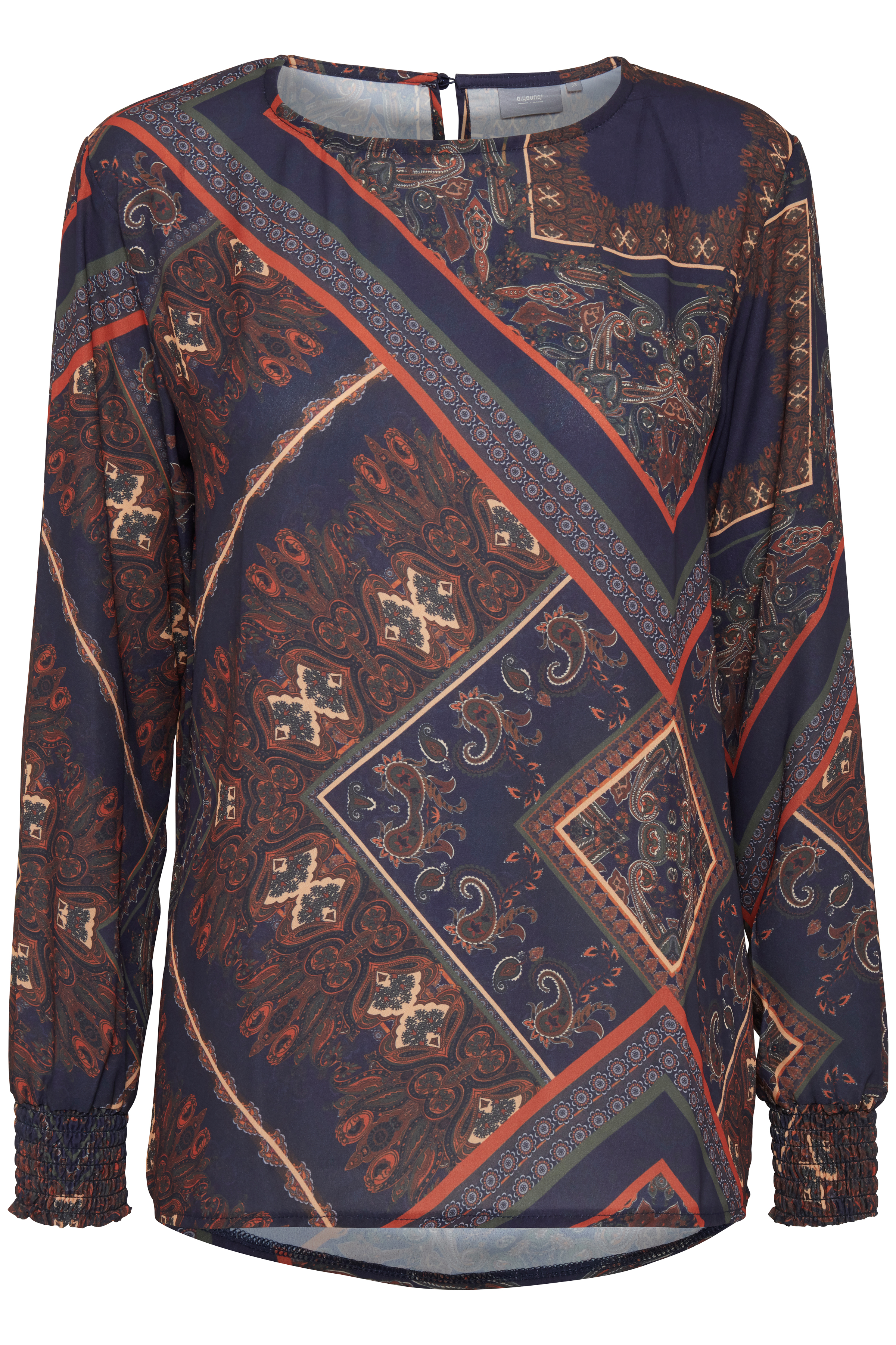 Blue combi 2 Langærmet bluse fra b.young – Køb Blue combi 2 Langærmet bluse fra str. 34-42 her