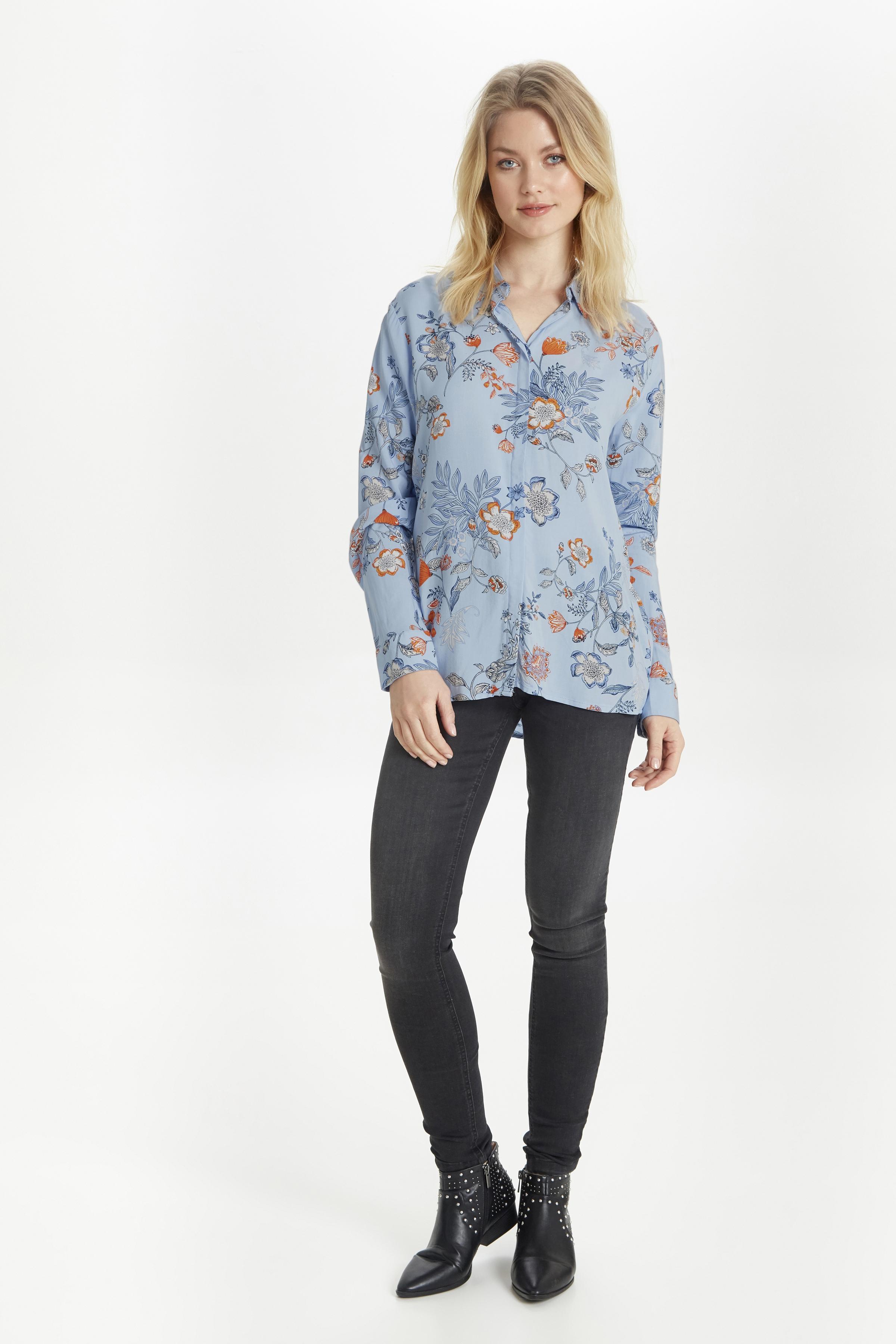 Blue flower combi 2 Langærmet skjorte fra b.young – Køb Blue flower combi 2 Langærmet skjorte fra str. 34-46 her
